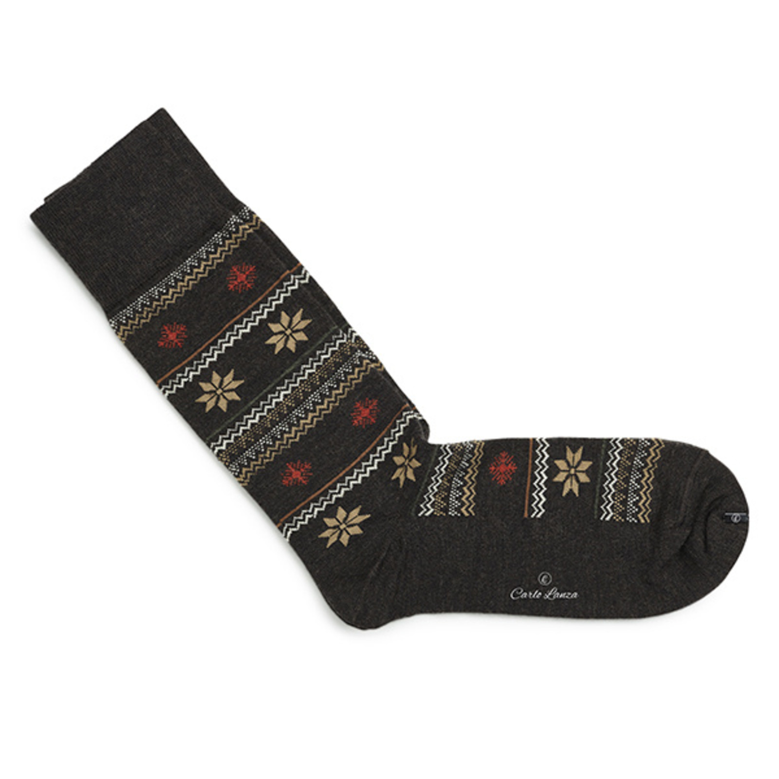Carlo Lanza Brown winter socks   Carlo Lanza