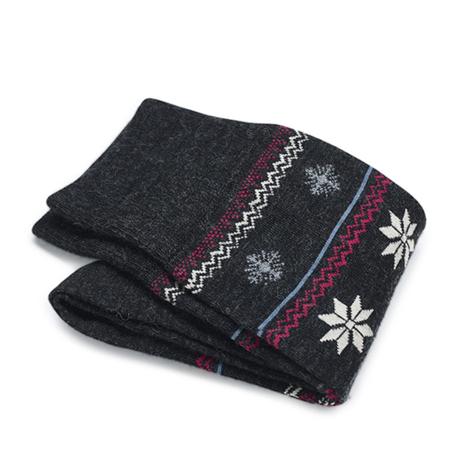 Carlo Lanza Graue Winter Socken | Carlo Lanza