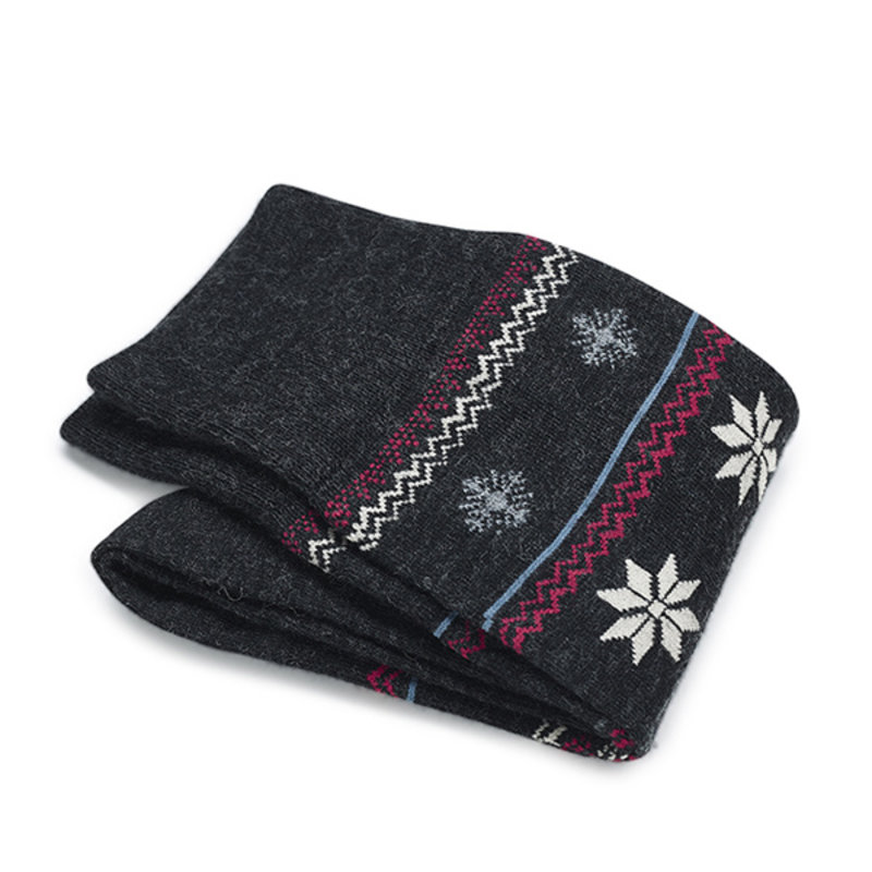 Grey winter socks   Carlo Lanza