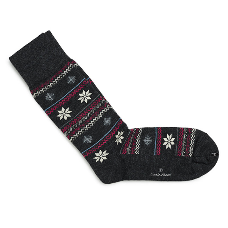 Winter sokken grijs | Carlo Lanza