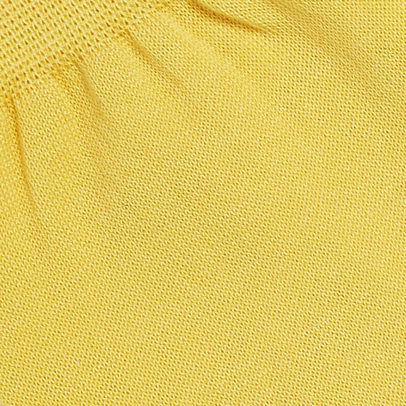 Gele herensokken katoen one size
