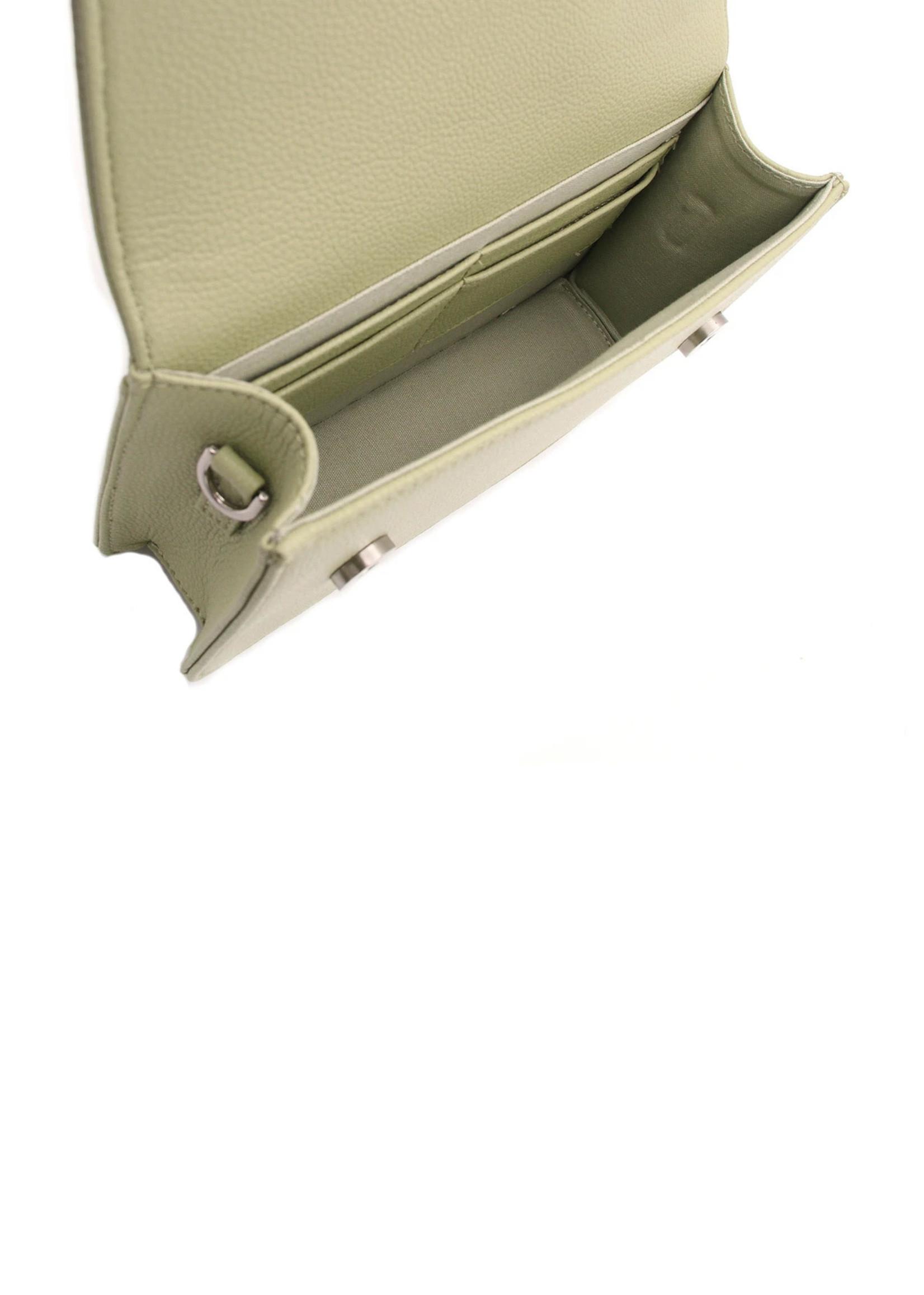 Denise Roobol Clutch Bag Milky Green