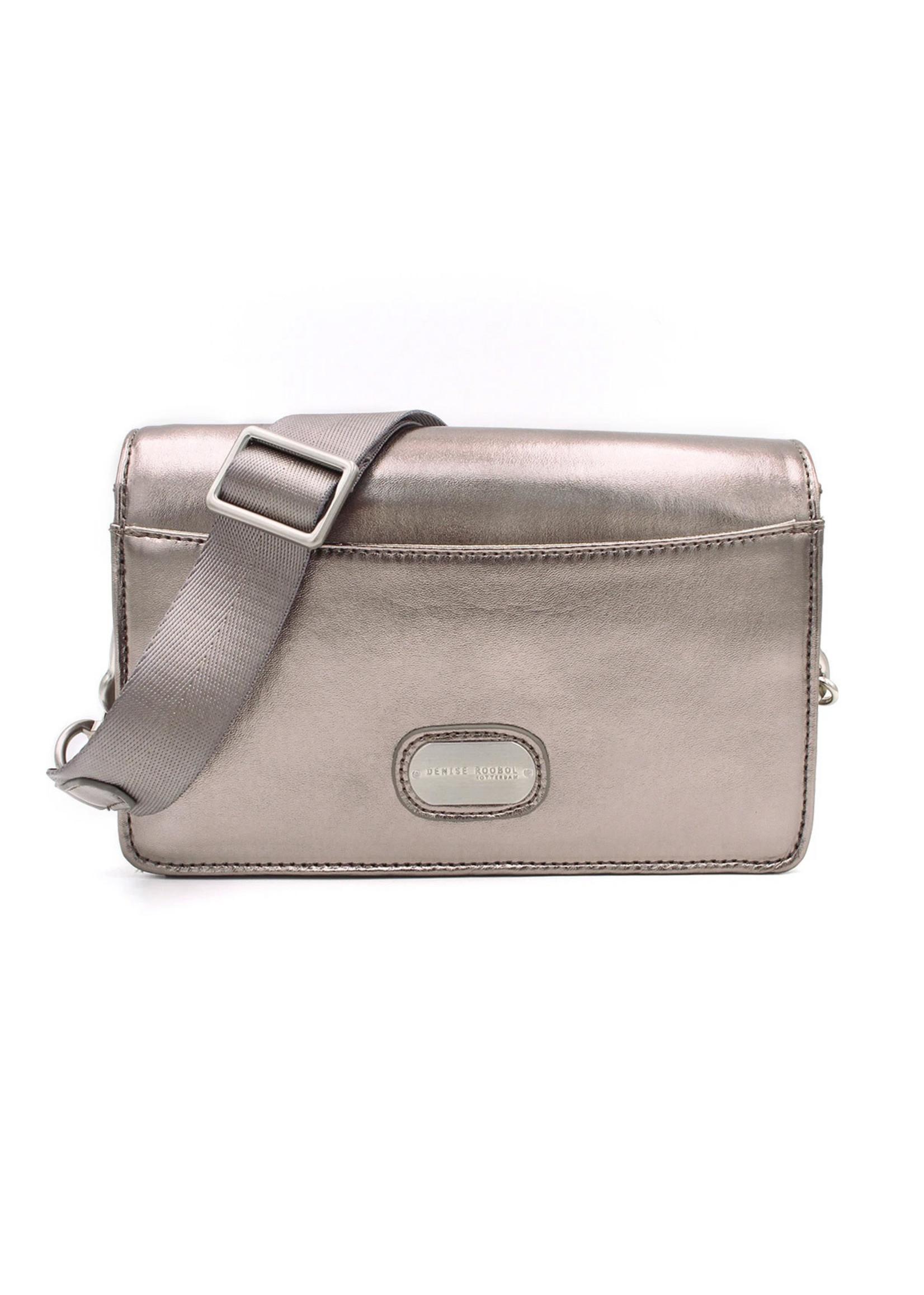 Denise Roobol Clutch Bag Metallic