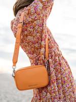 Denise Roobol Denise Roobol - Mini Messenger Bag Milky Orange - Vegan