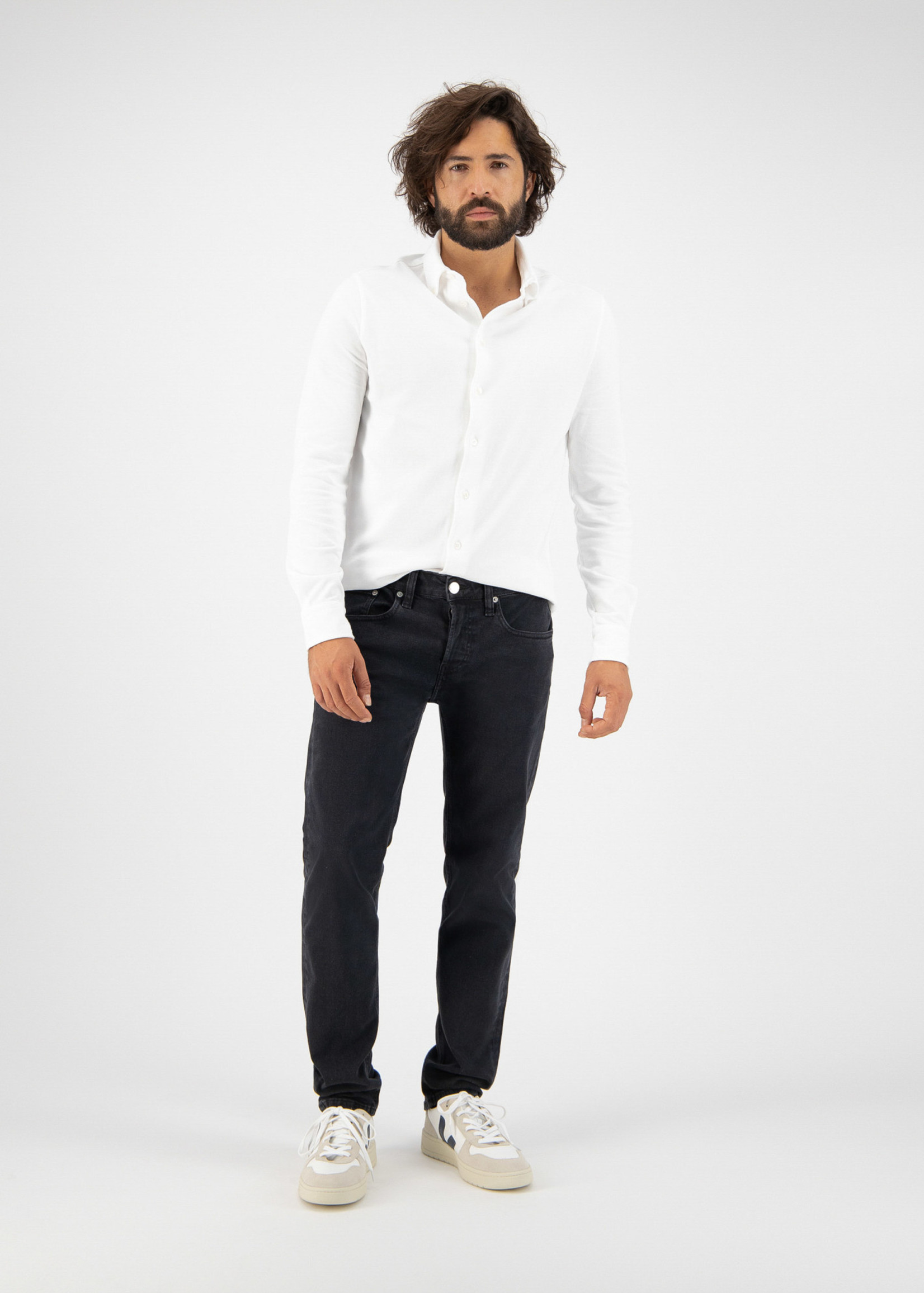 MUD Jeans MUD Jeans - Regular Dunn - Stone Black
