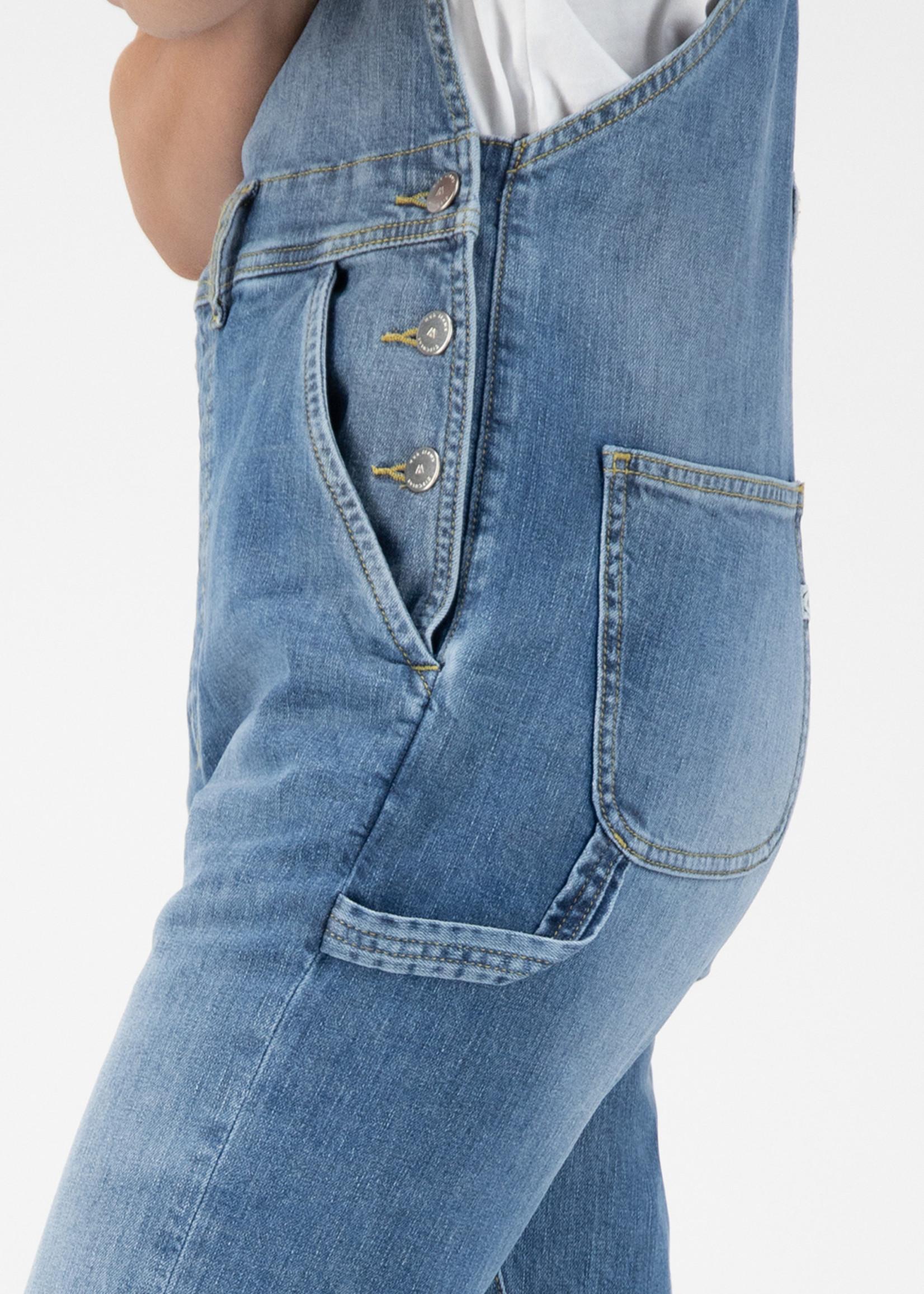 MUD Jeans MUD Jeans - Jenn Dungaree - Old Stone