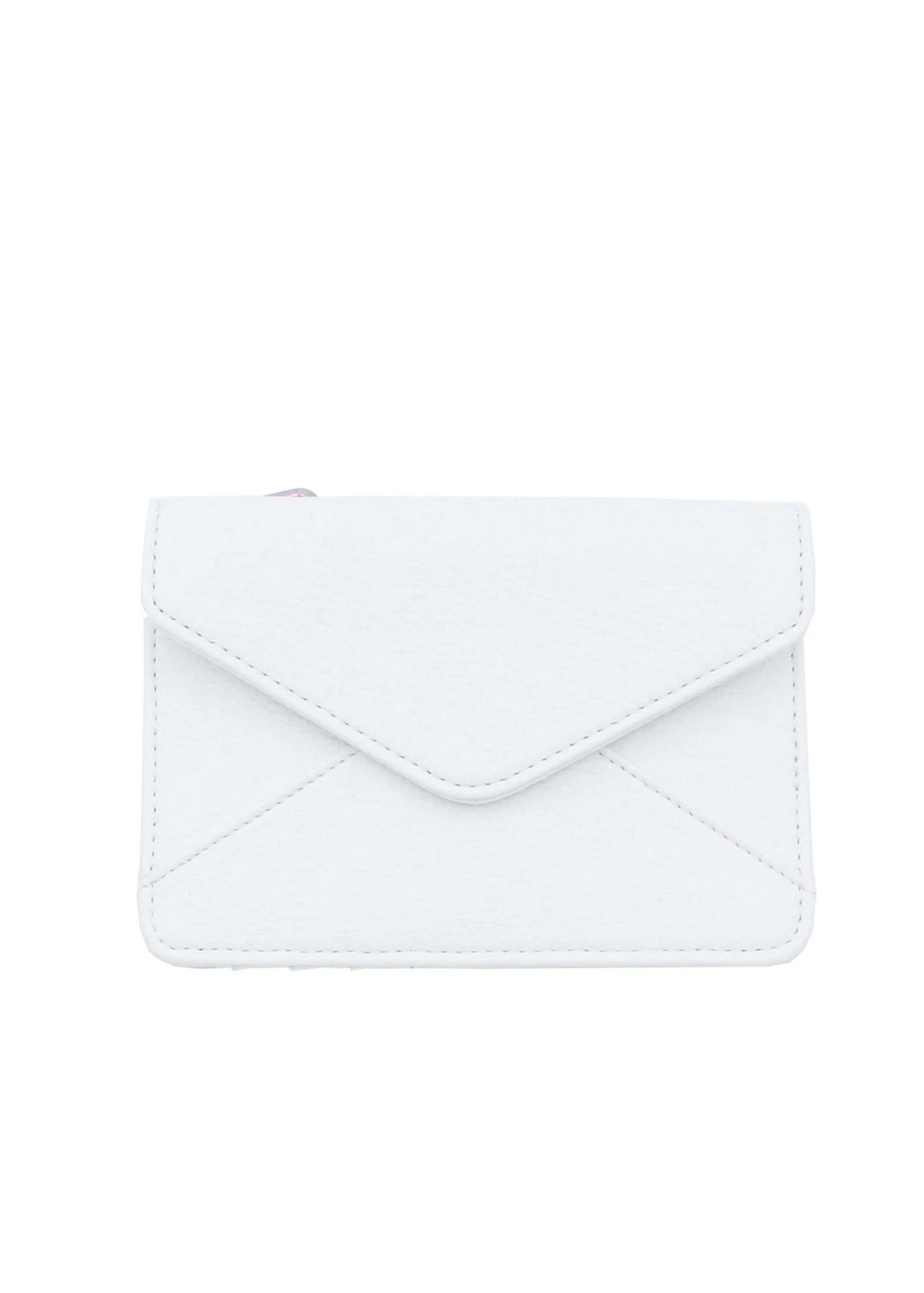 Denise Roobol Mini Wallet White