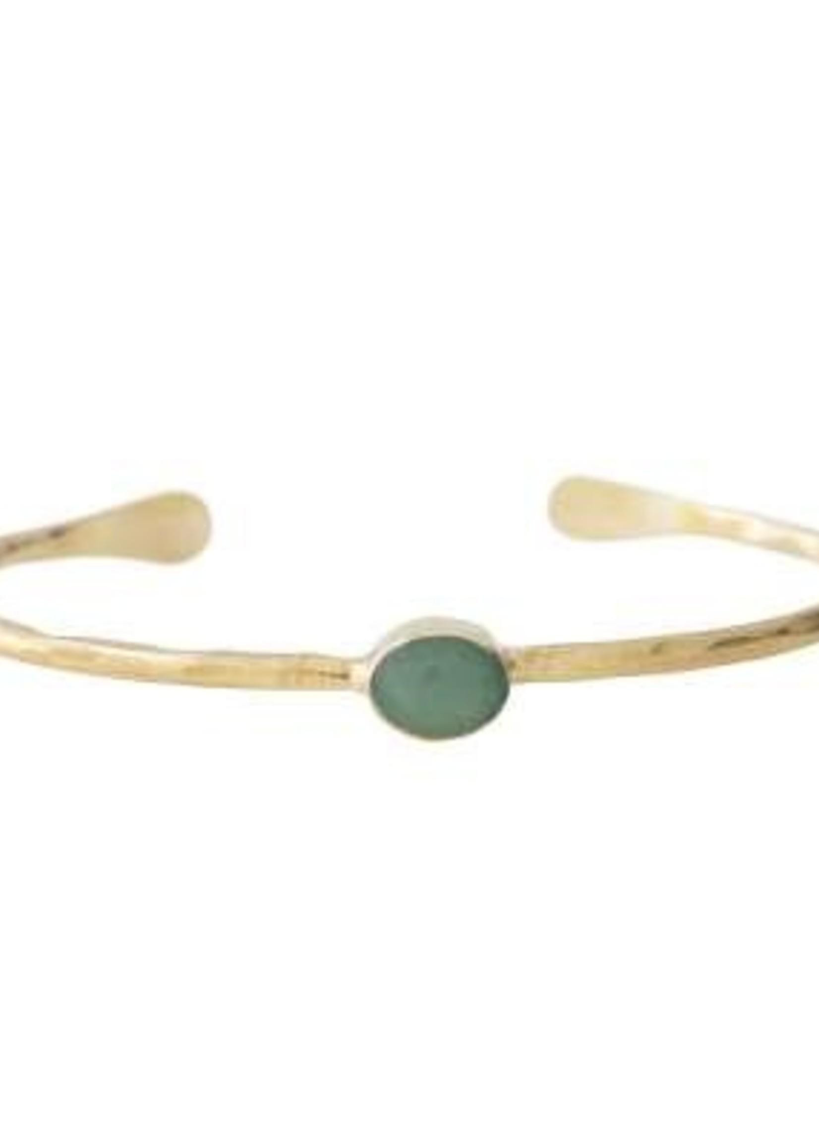 A Beautiful Story Moonlight Aventurine Gold bracelet