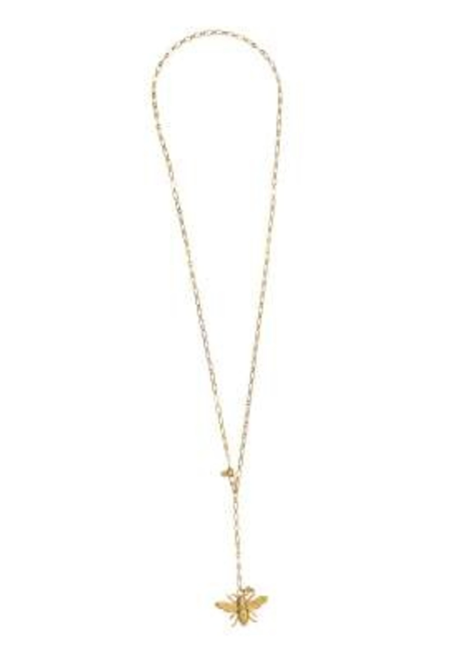 A Beautiful Story Comfort Citrine Gold necklace