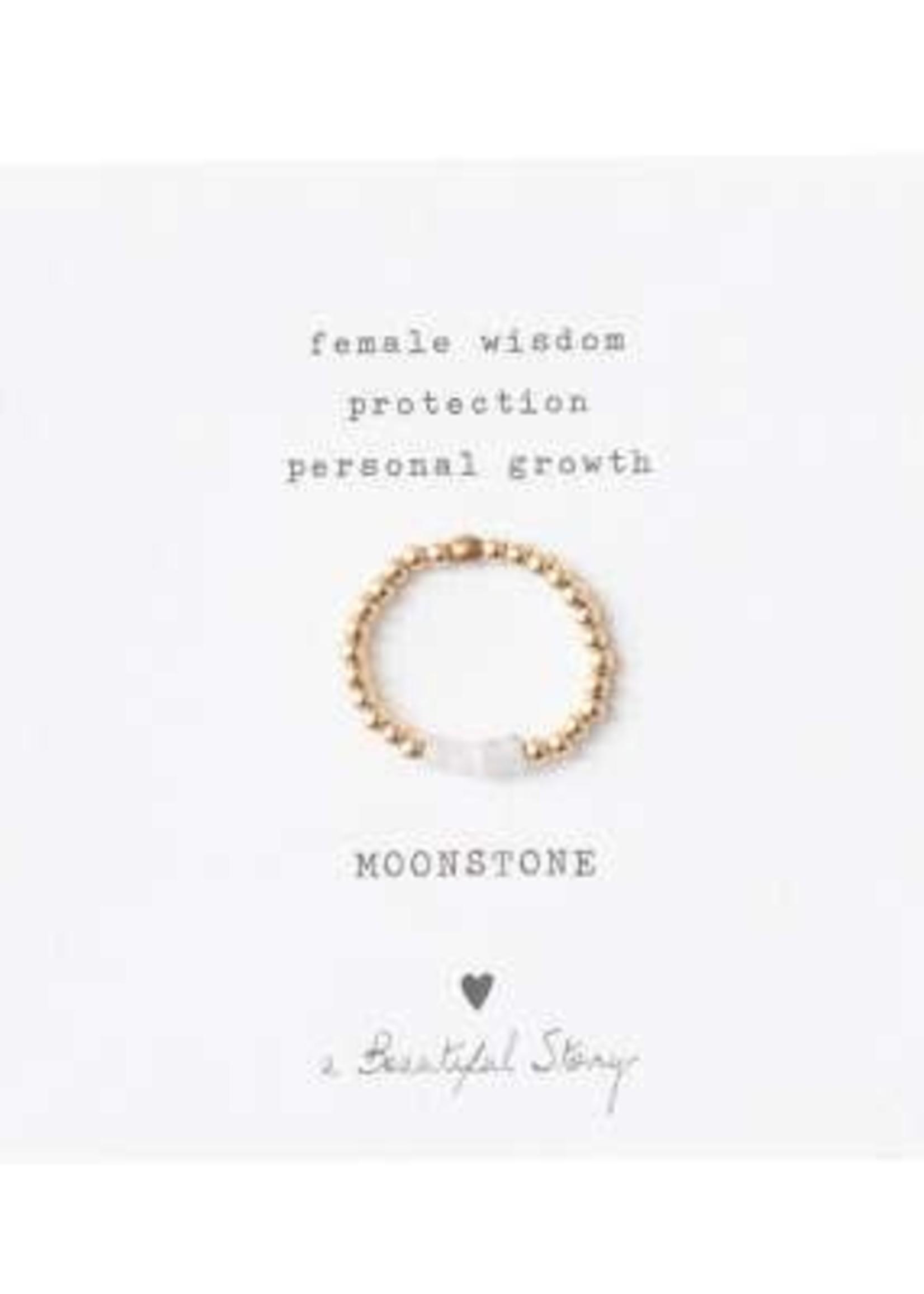 A Beautiful Story Beauty Moonstone Ring M/L