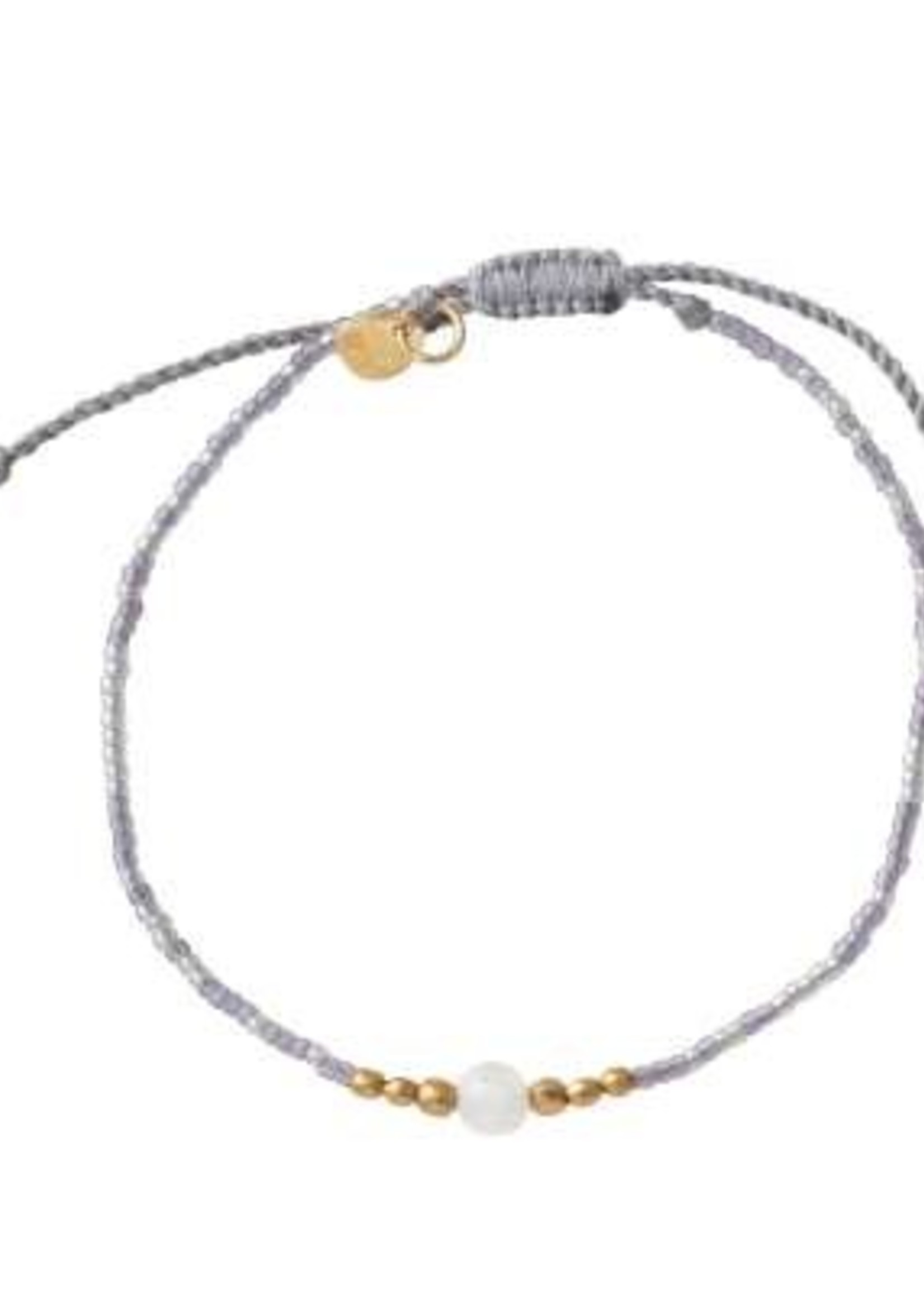 A Beautiful Story Iris Moonstone Gold Bracelet