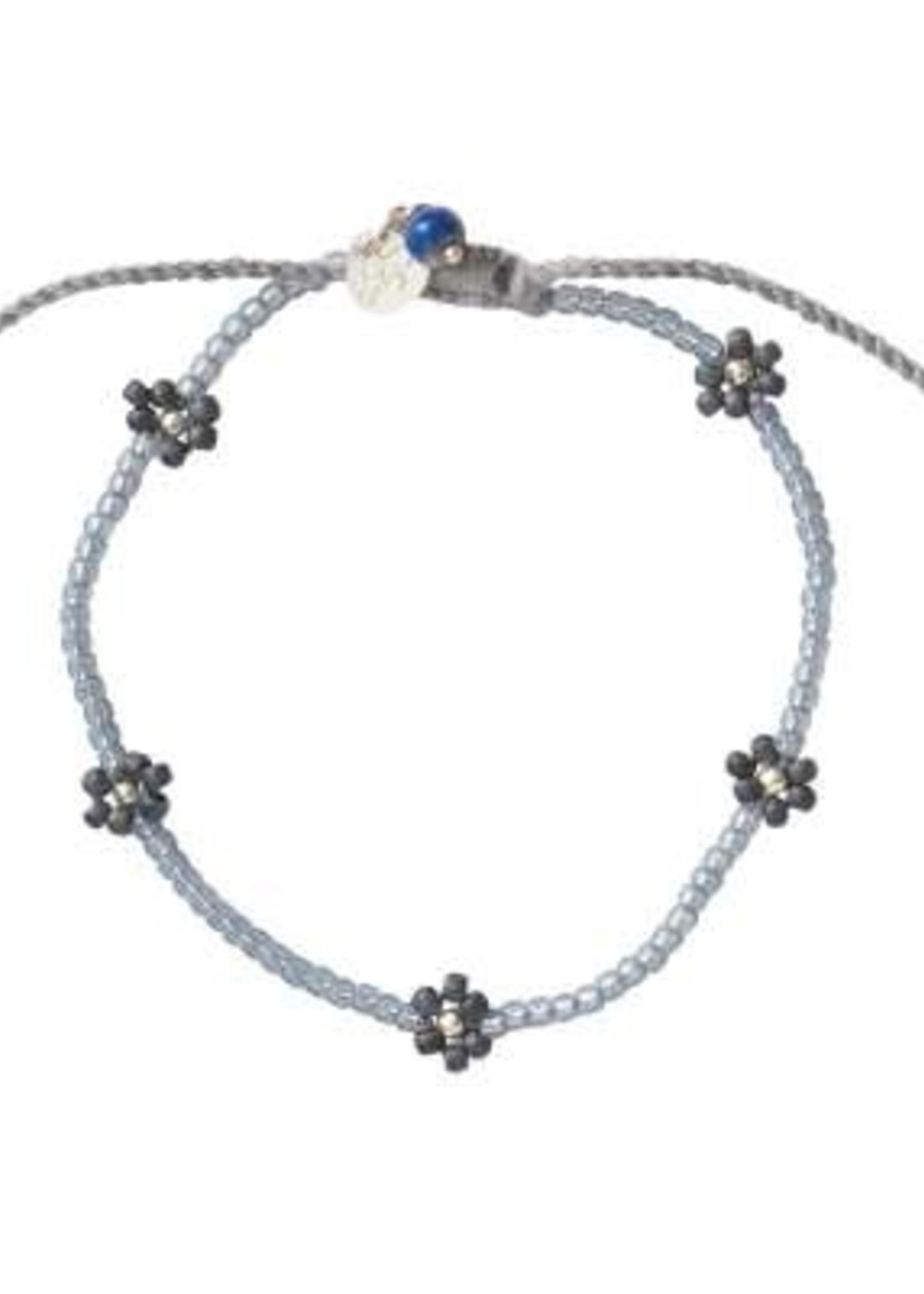 A Beautiful Story Sunshine Lapis Lazuli Silver Bracelet