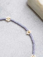 A Beautiful Story Daisy Moonstone Gold Anklet