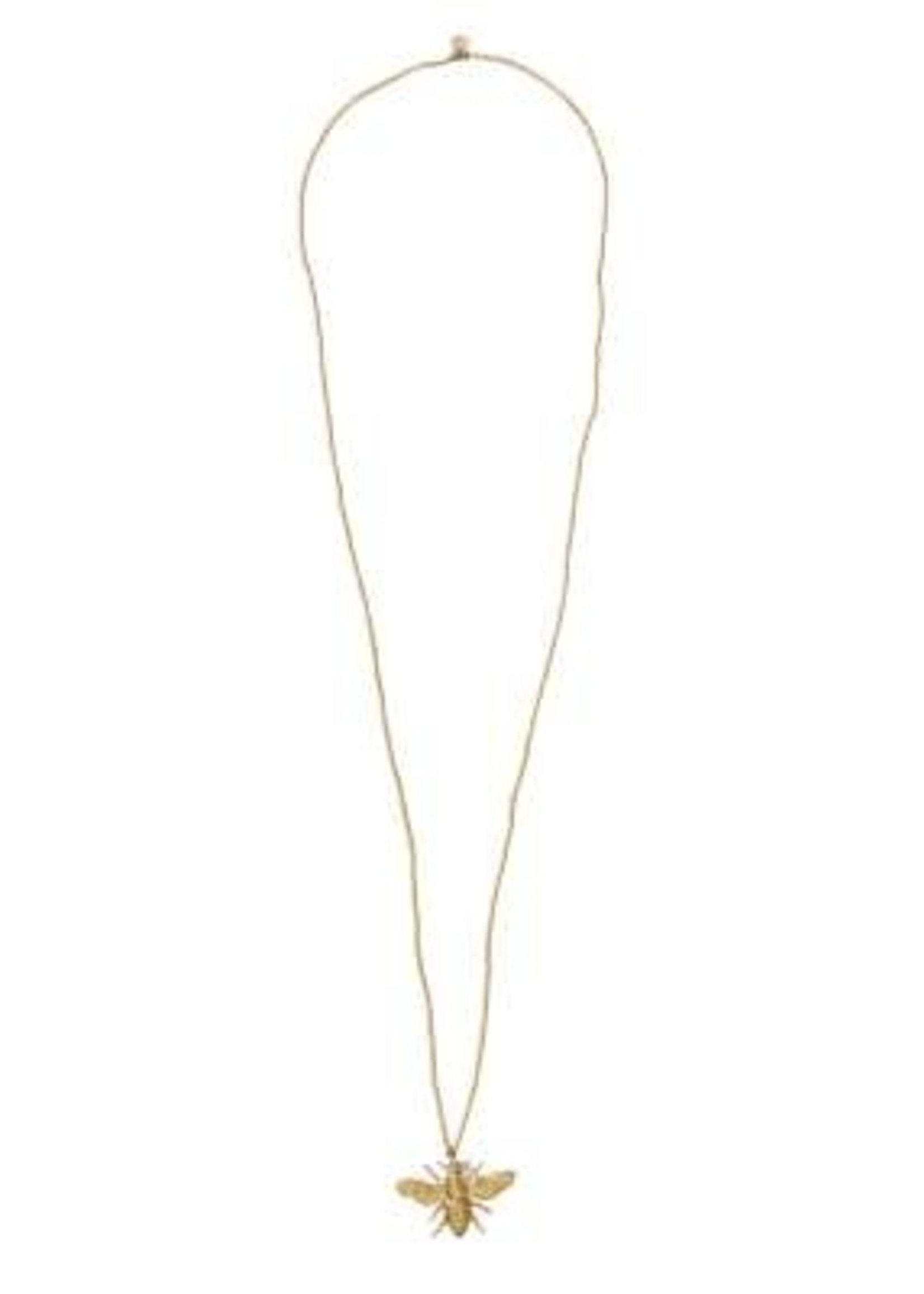 A Beautiful Story Paradise Moonstone Gold Necklace