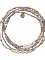 A Beautiful Story Together Moonstone Gold Bracelet