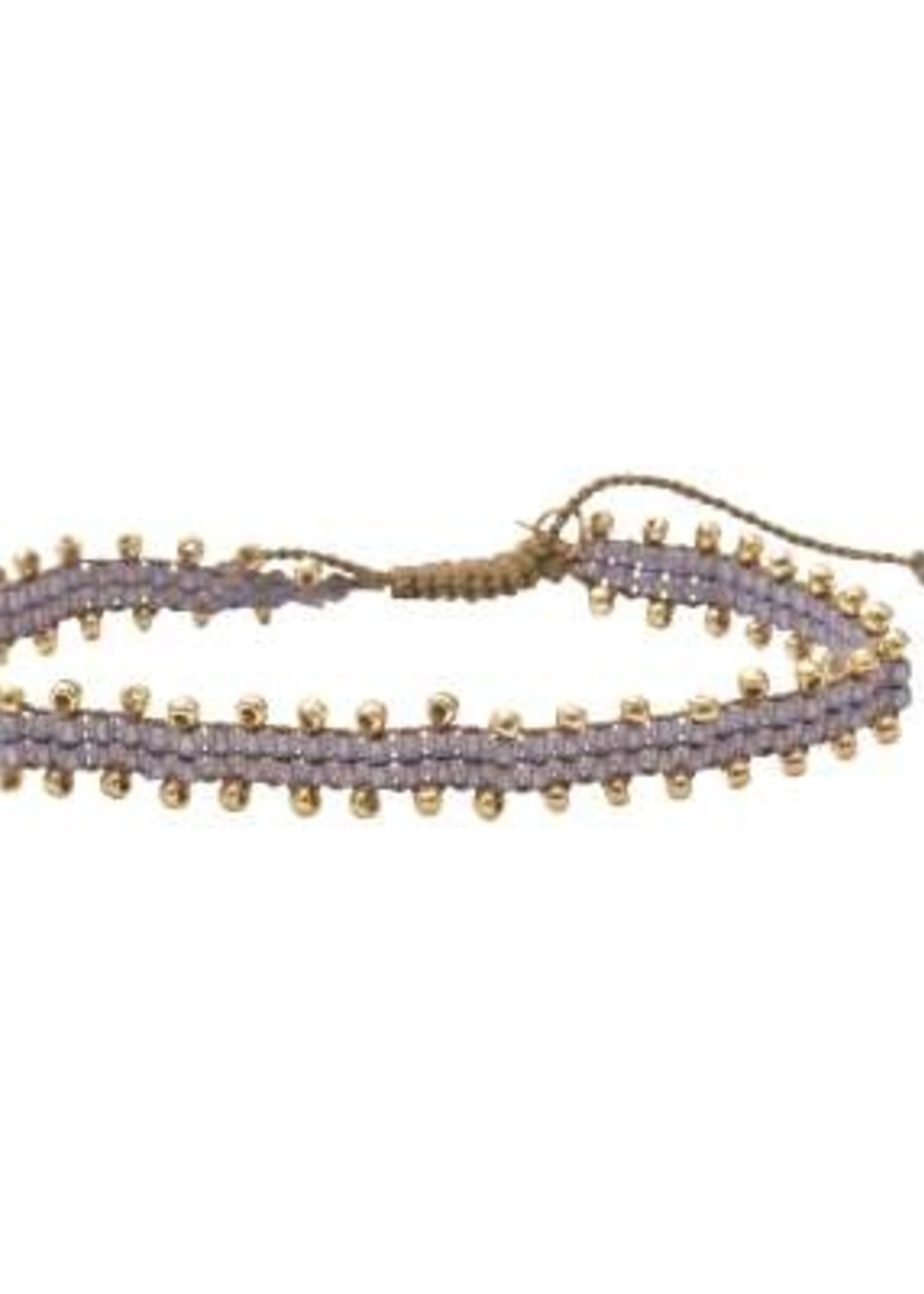 A Beautiful Story Happiness Moonstone Gold Bracelet