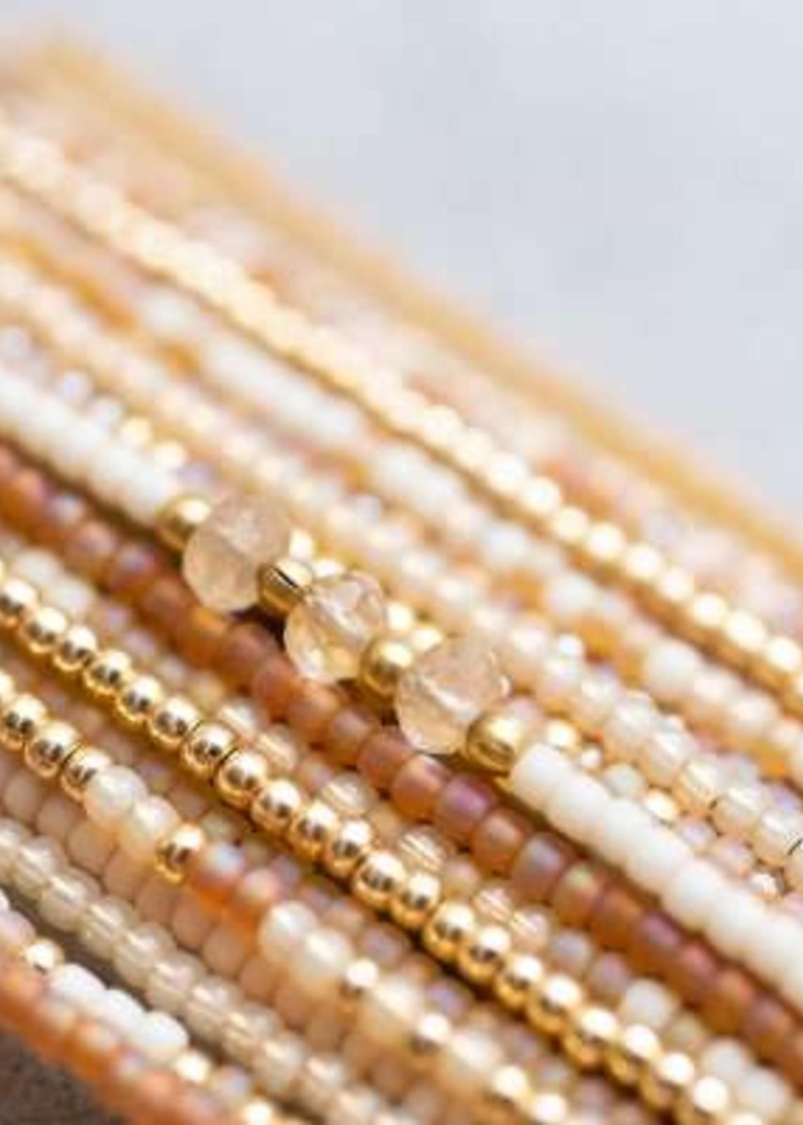 A Beautiful Story Brilliant Citrine Gold Bracelet