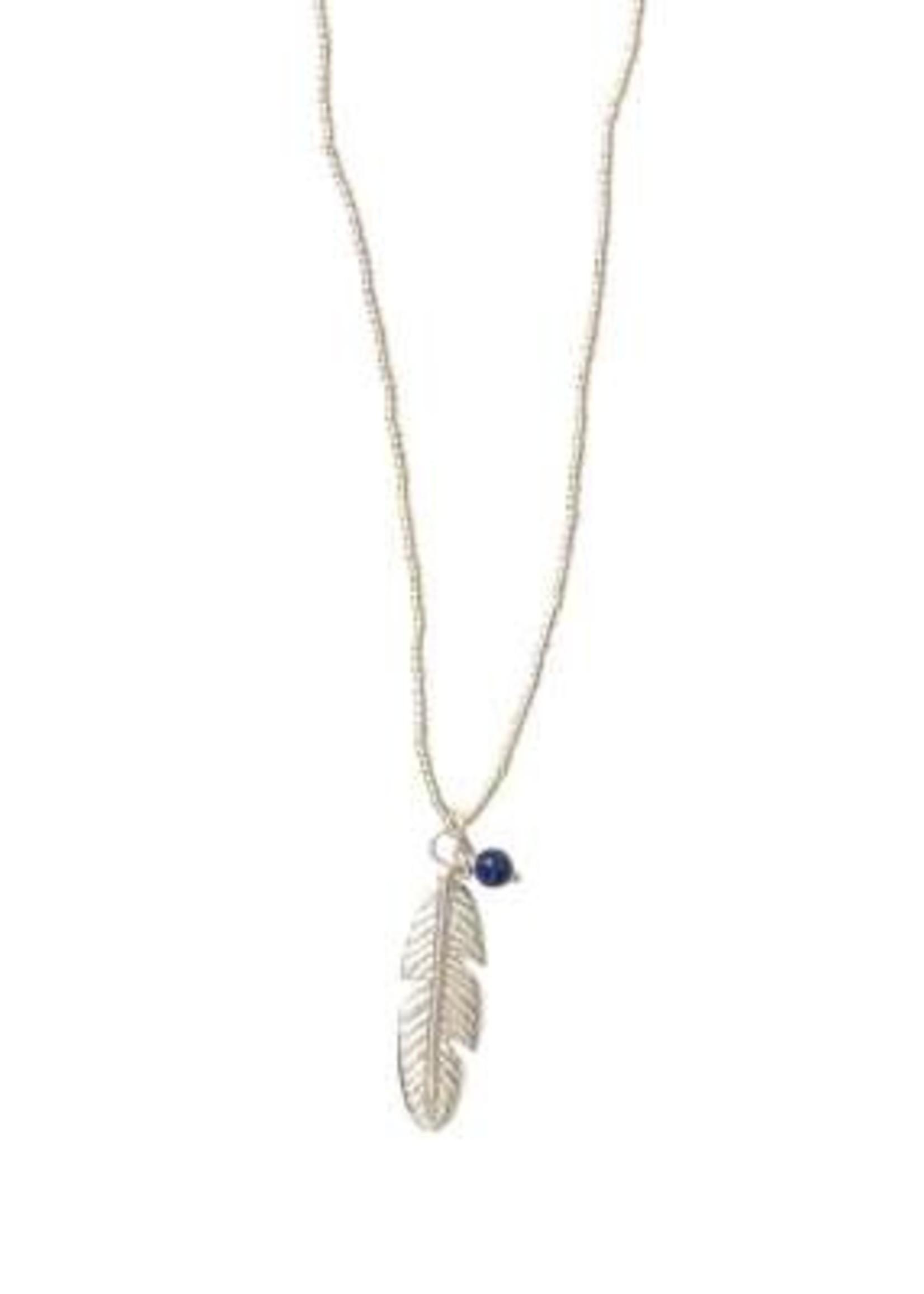 A Beautiful Story Paradise Lapis Lazuli Silver Necklace