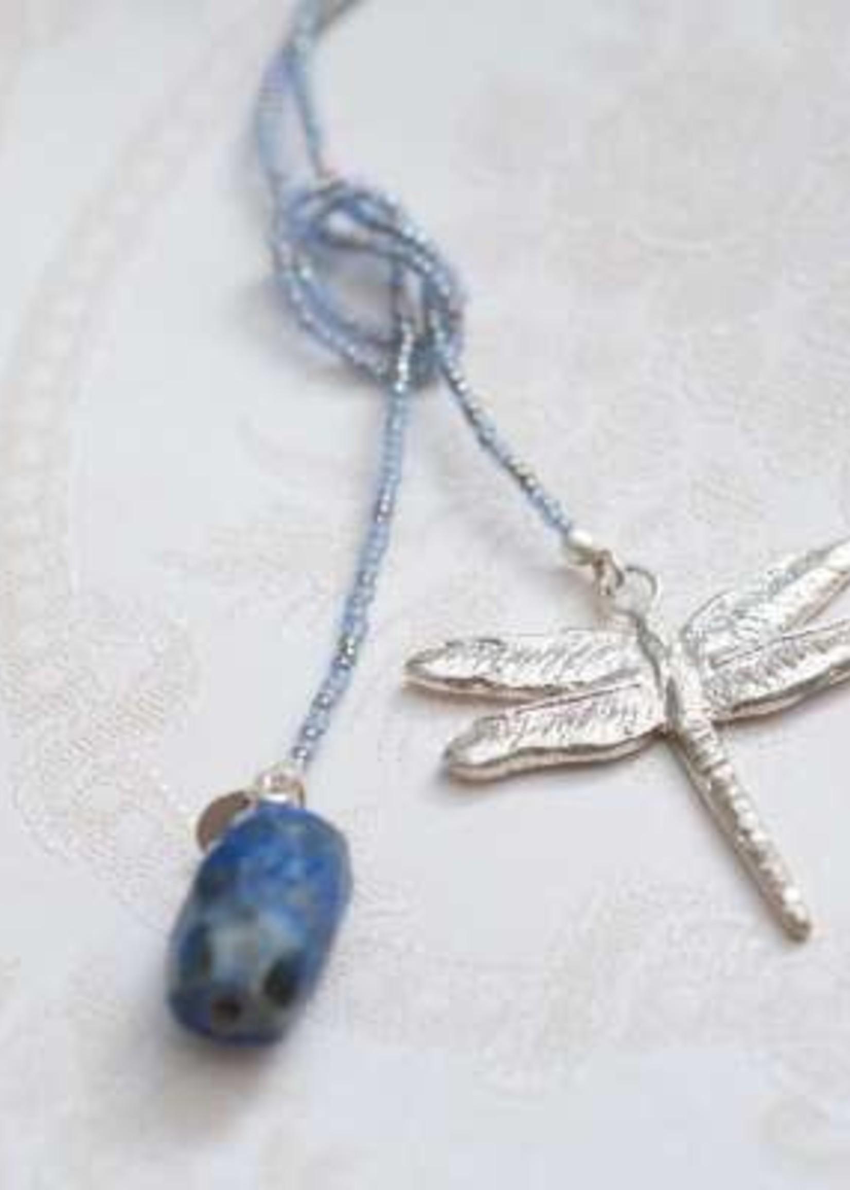 A Beautiful Story Nova Lapis Lazuli Silver Necklace