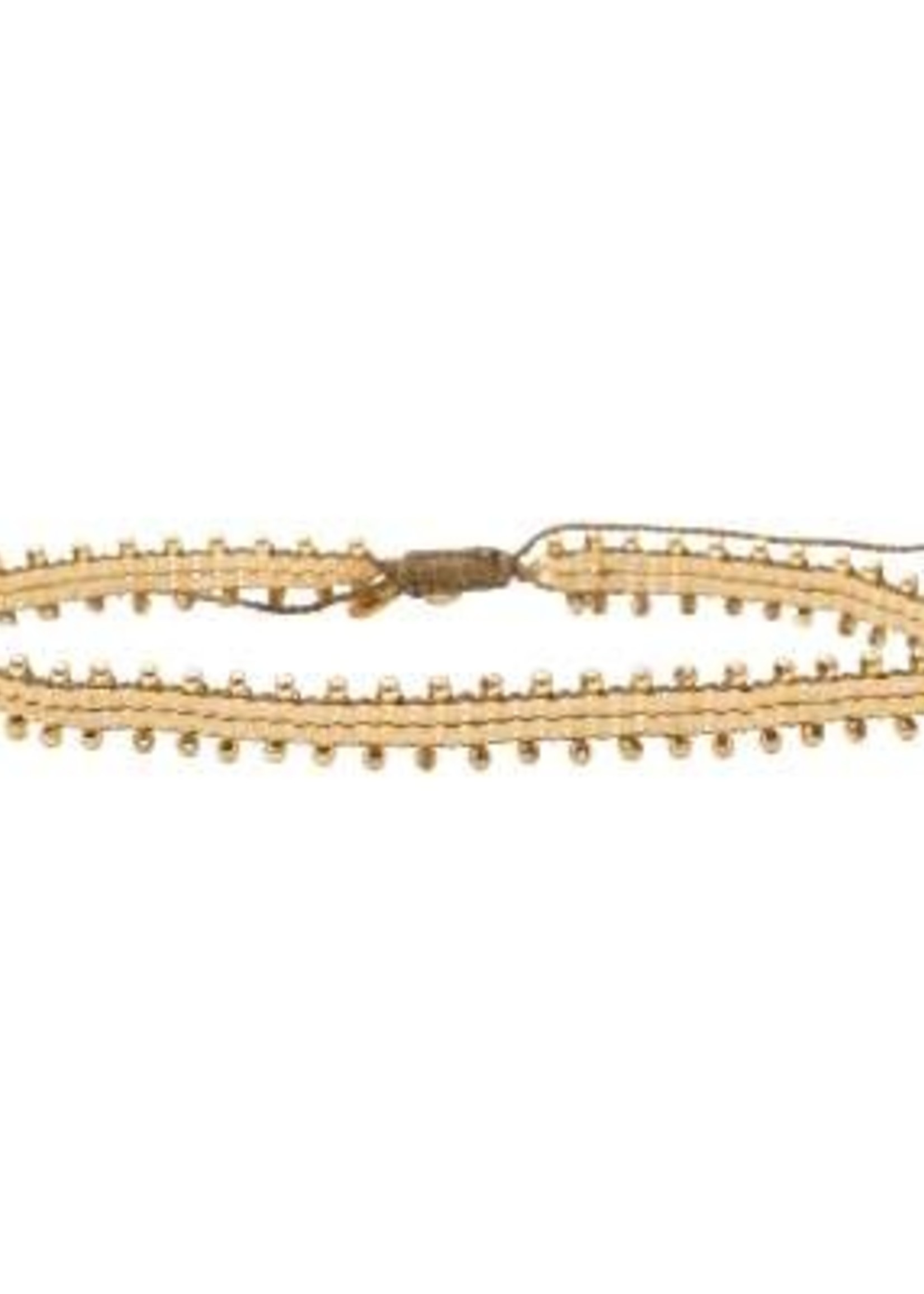 A Beautiful Story Positive Citrine Gold Anklet