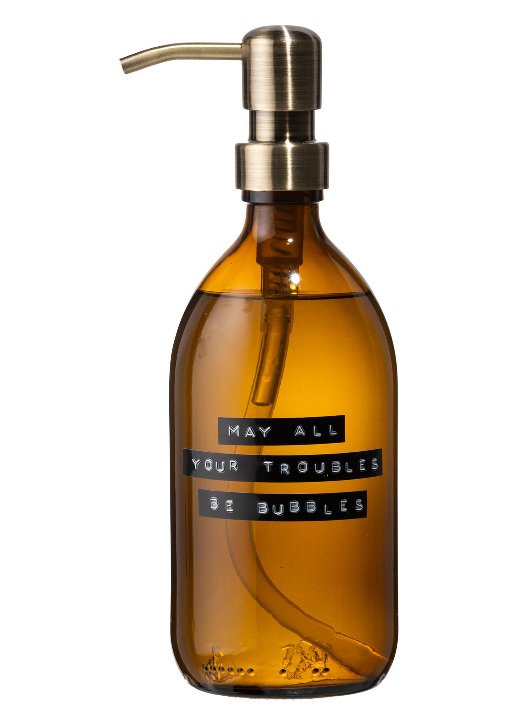 WELLmark WELLmark - Handzeep bamboe -  500ml - 'may all your troubles be bubbles'
