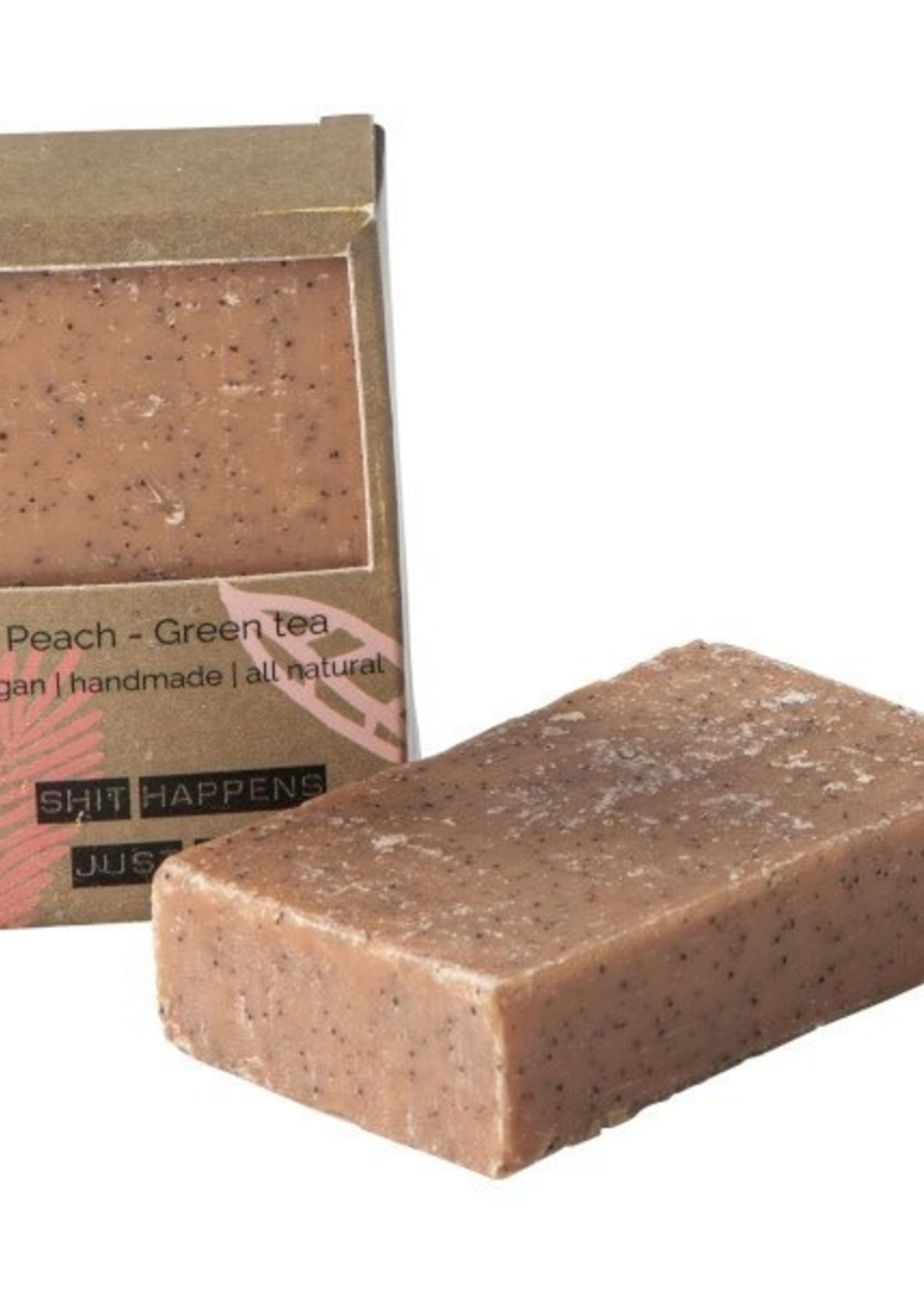 WELLmark WELLmark - Vegan soap bar - peach green tea