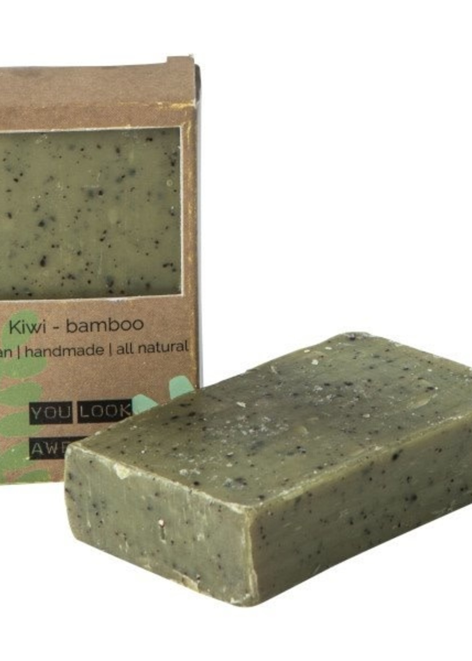 WELLmark WELLmark - Vegan soap bar - kiwi bamboe