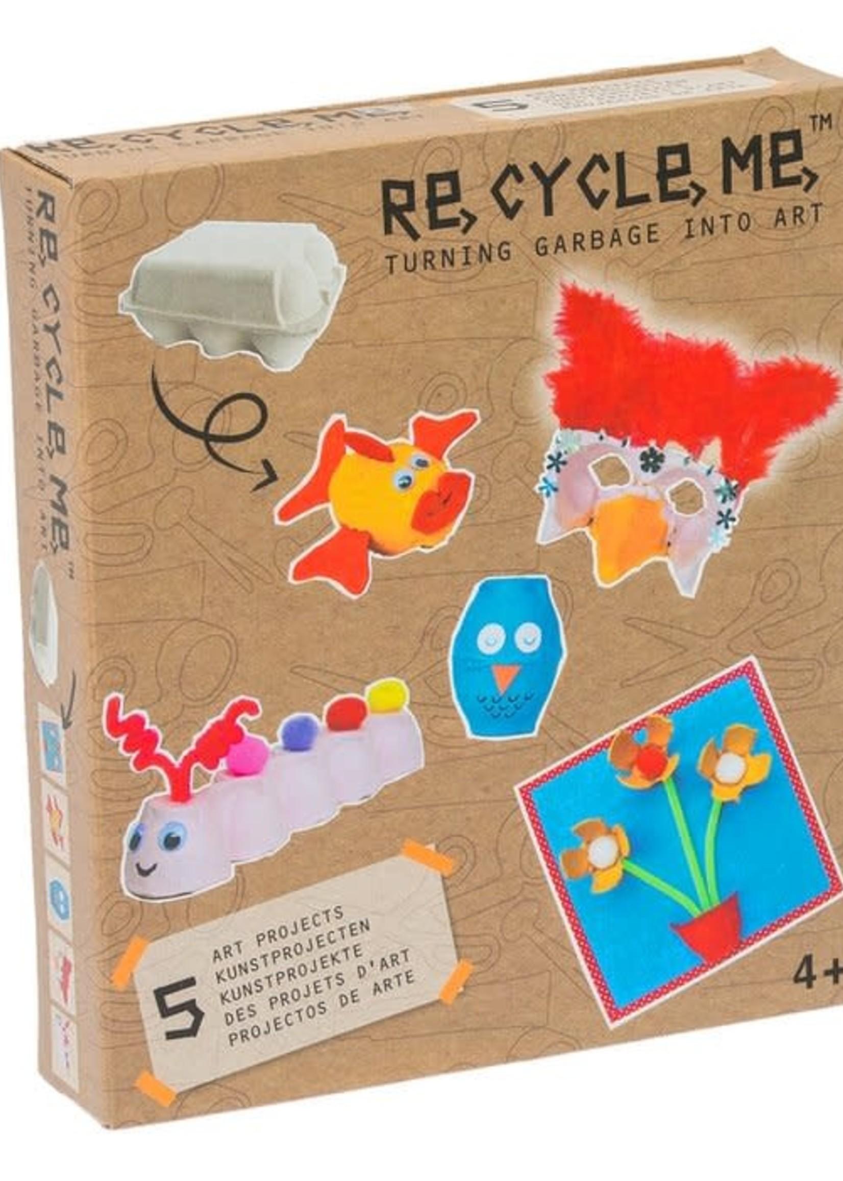 Re-Cycle-Me Re-Cycle-Me - Knutselen met eierdozen