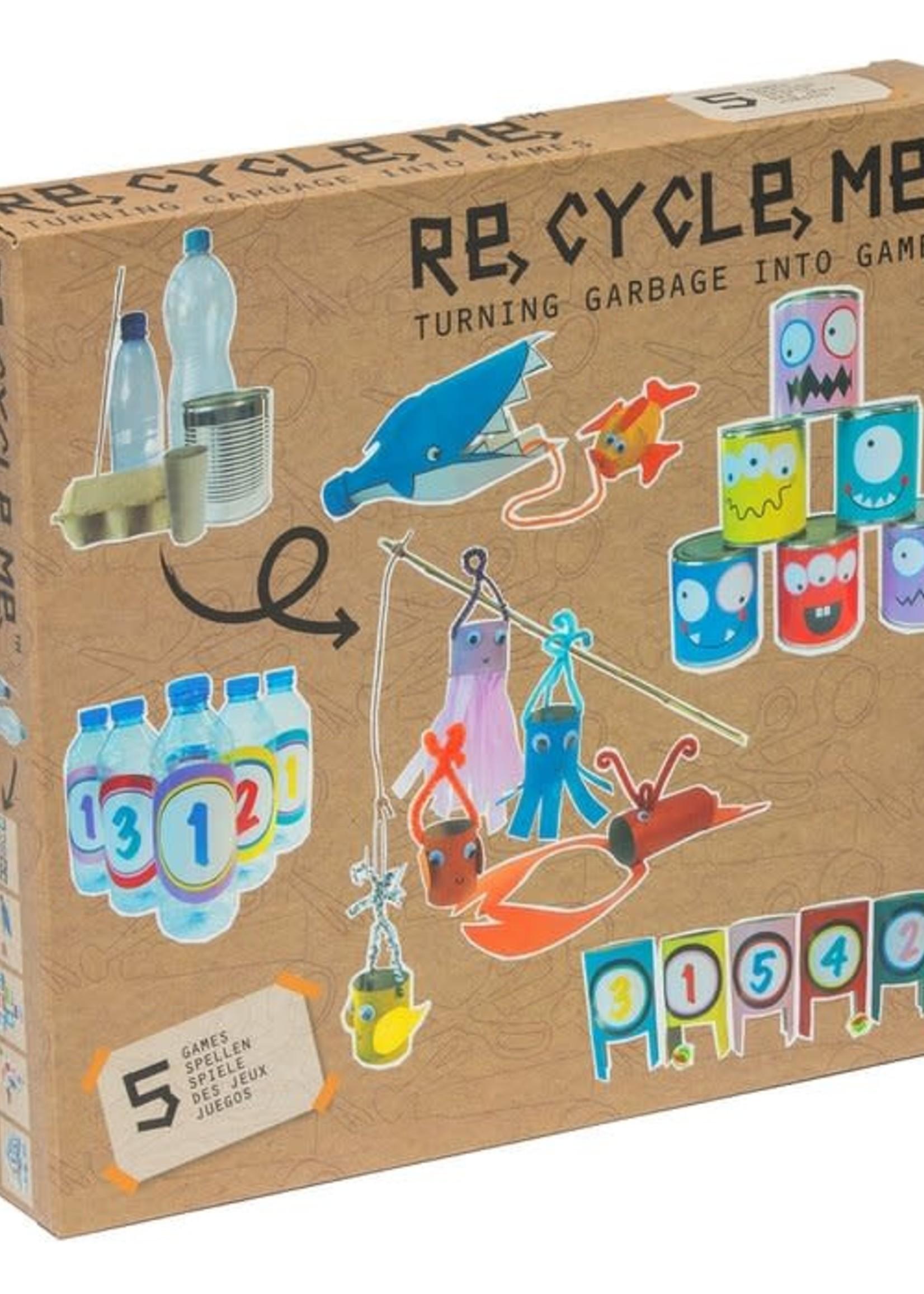 Re-Cycle-Me Re-Cycle-Me - Spelletjes knutselpakket