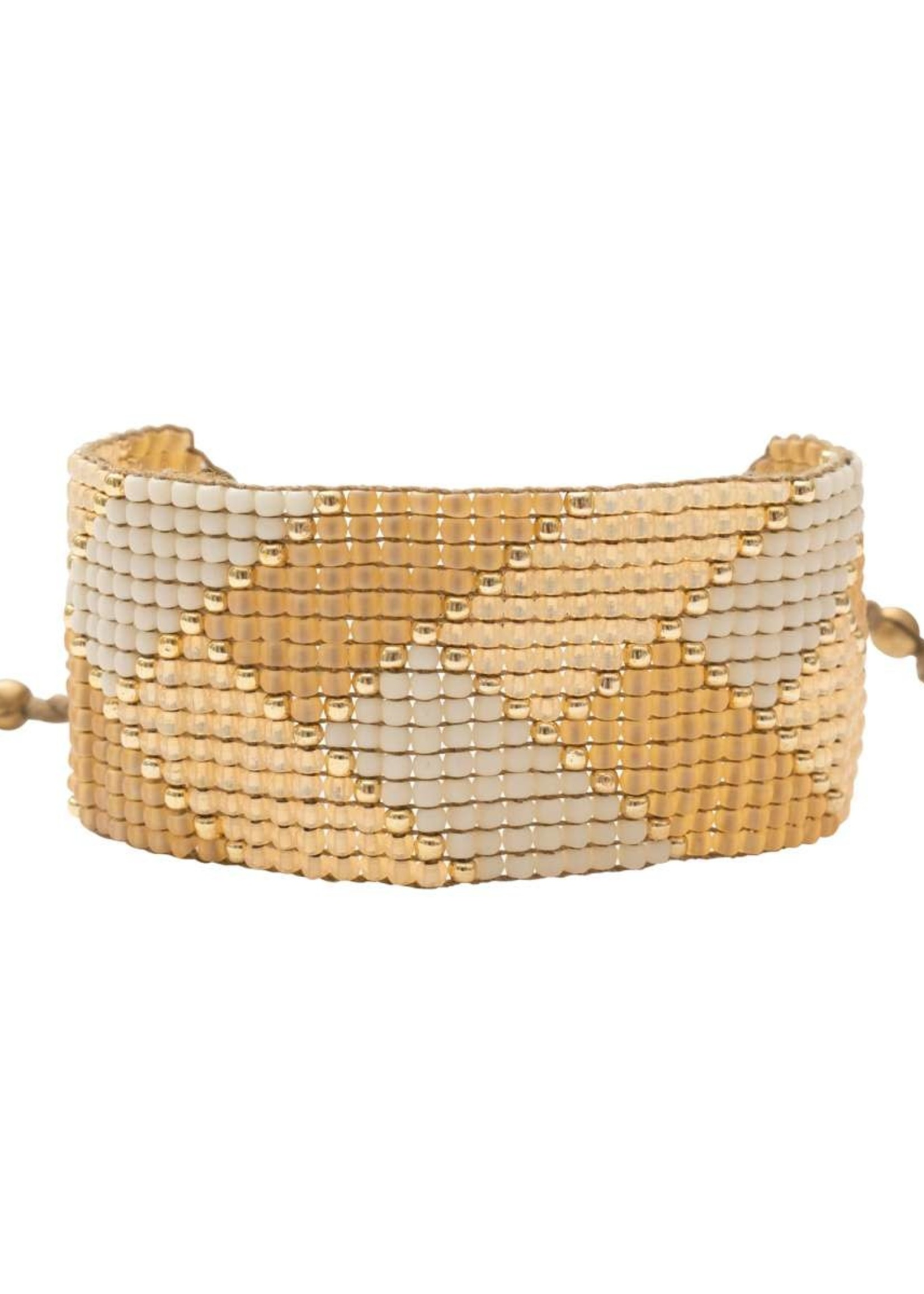 A Beautiful Story Willow Citrine Gold Bracelet
