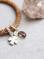 A Beautiful Story Jacky Multi Color Smokey Quartz Silver Bracelet