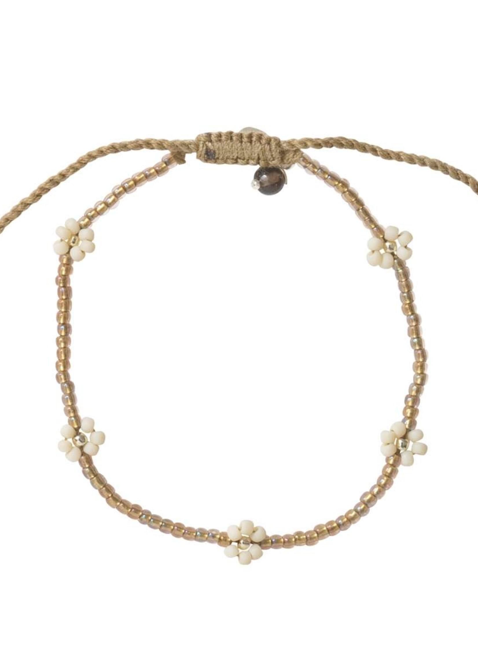 A Beautiful Story Sunshine Smokey Quartz Silver Bracelet