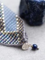 A Beautiful Story Willow Lapis Lazuli Silver Bracelet