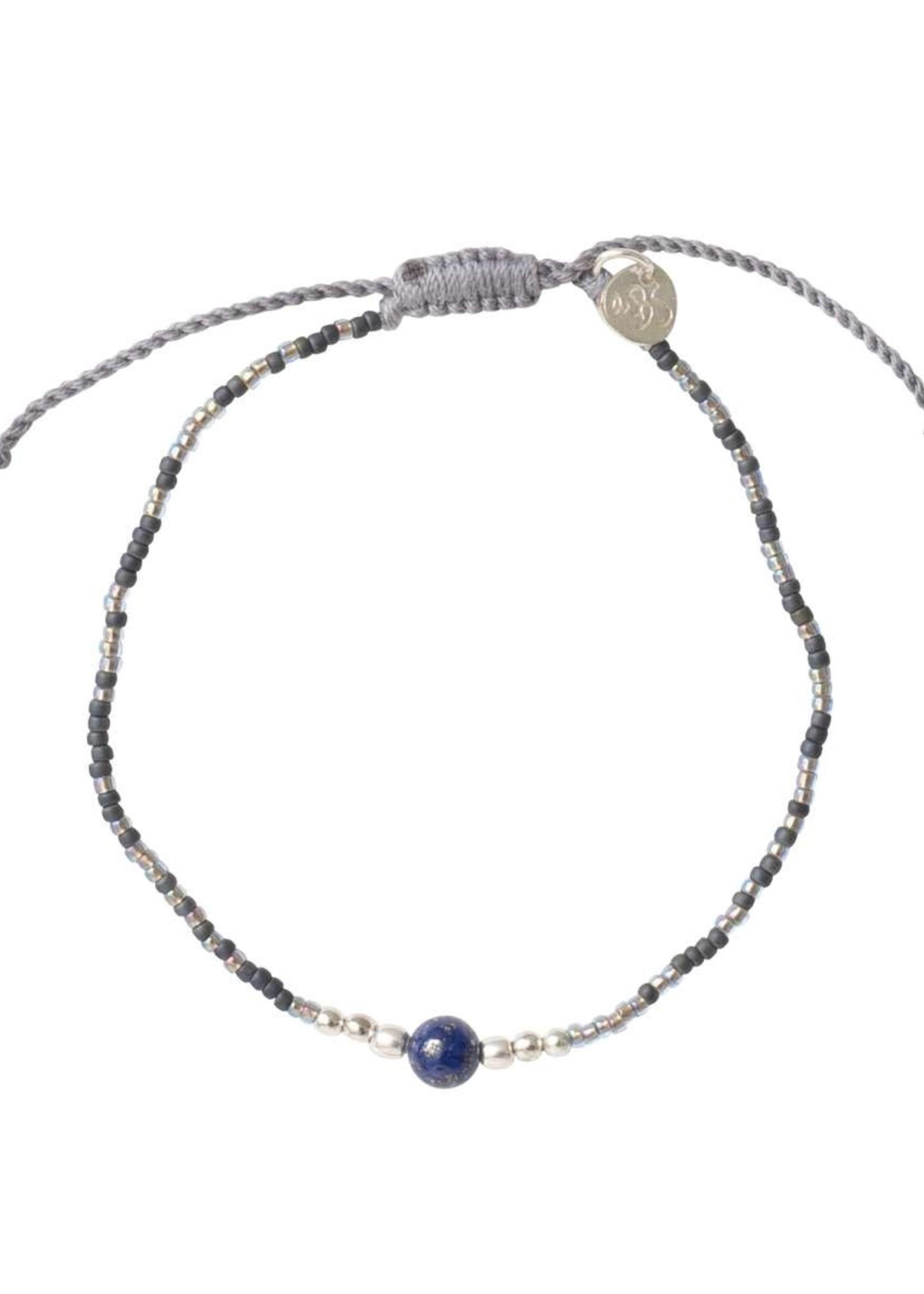 A Beautiful Story Iris Lapis Lazuli Silver Bracelet
