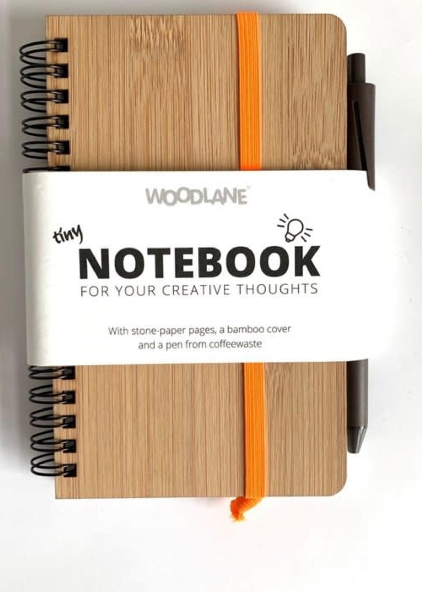 Woodlane Bamboo Notebook & Pen of coffeewaste