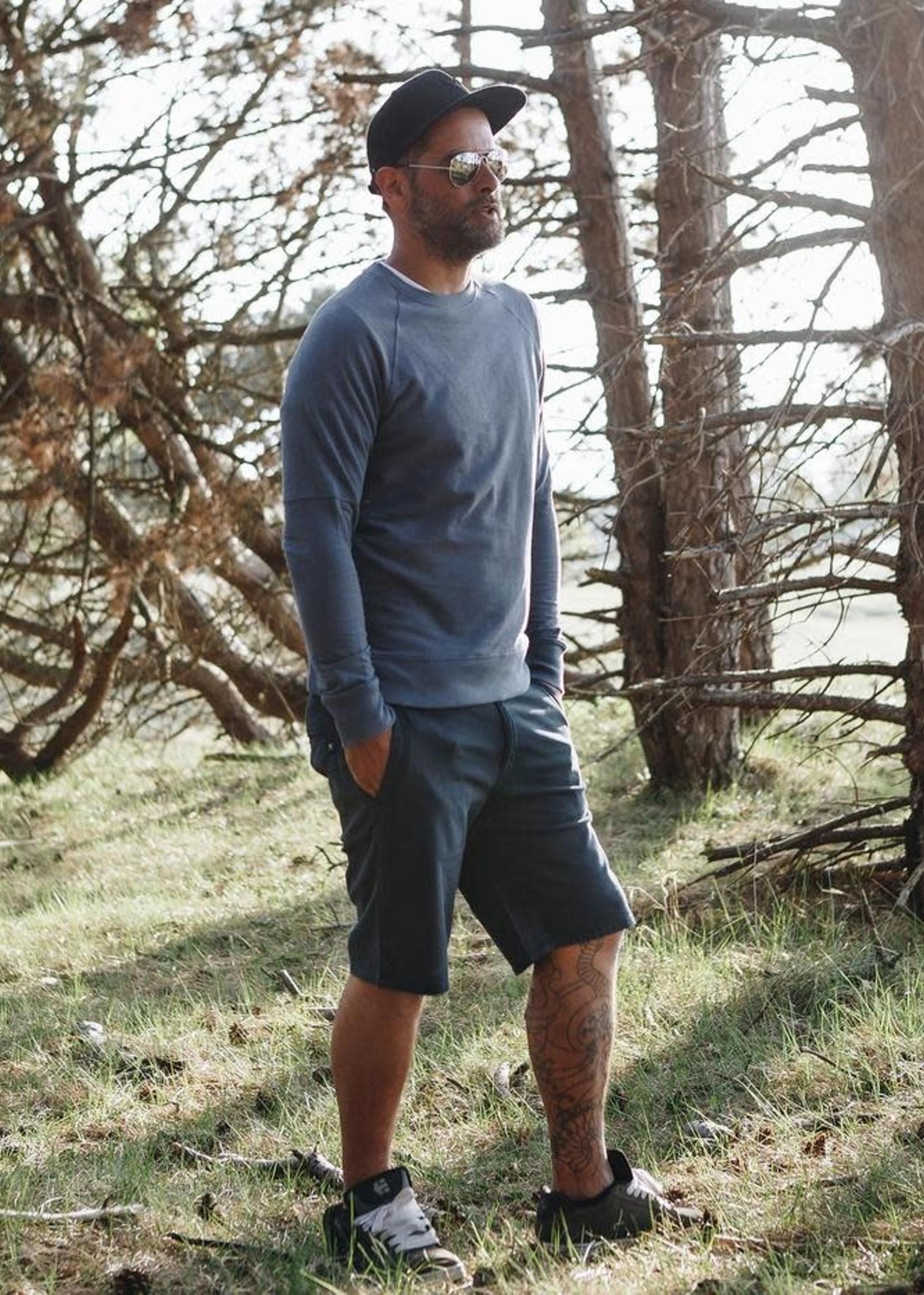 The Driftwood Tales The Driftwood Tales - Biologisch katoen - Chino short - Navy Blauw