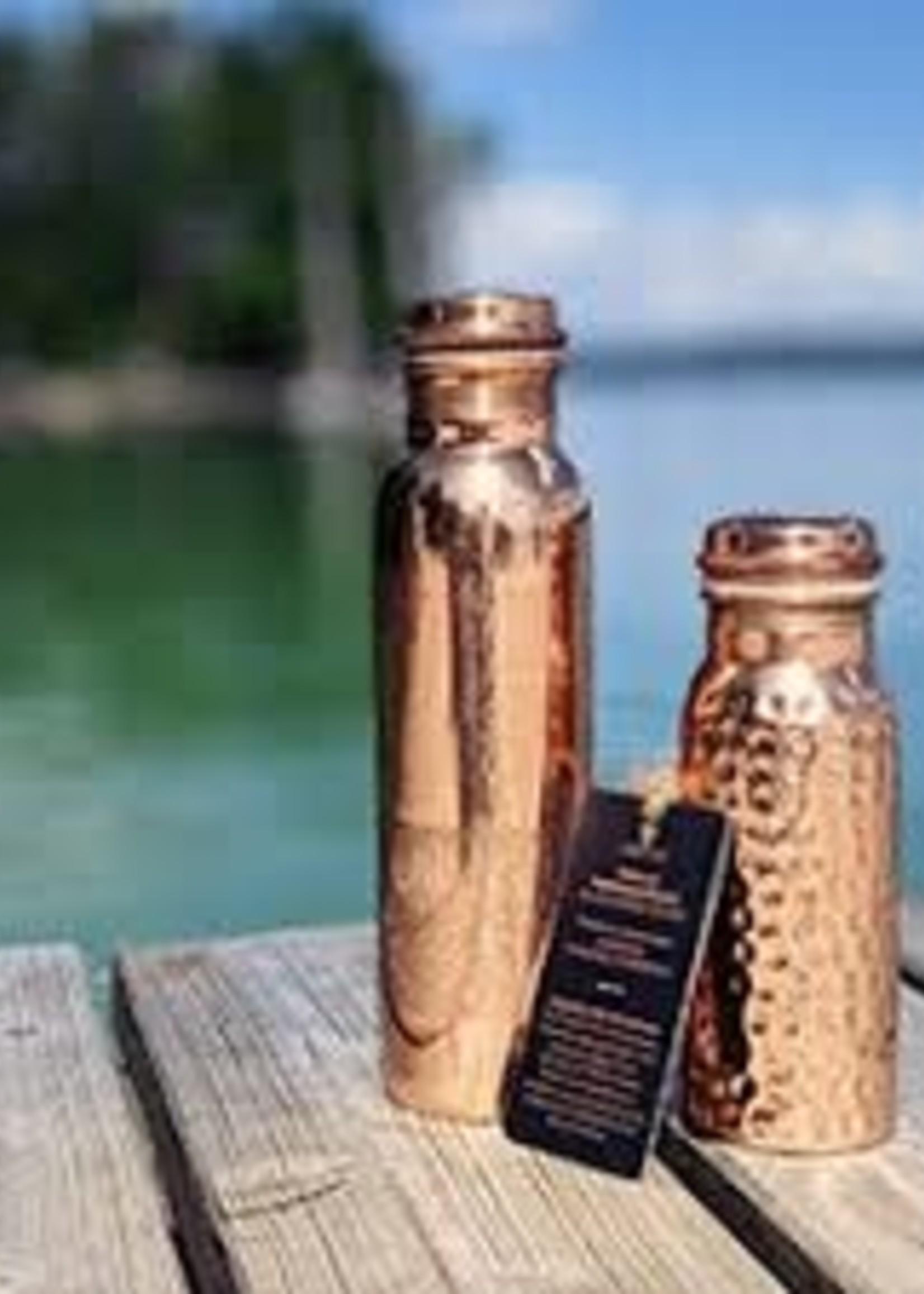 Forrest & Love Forrest & Love - Copper Luxury engraved water bottle.900 ml