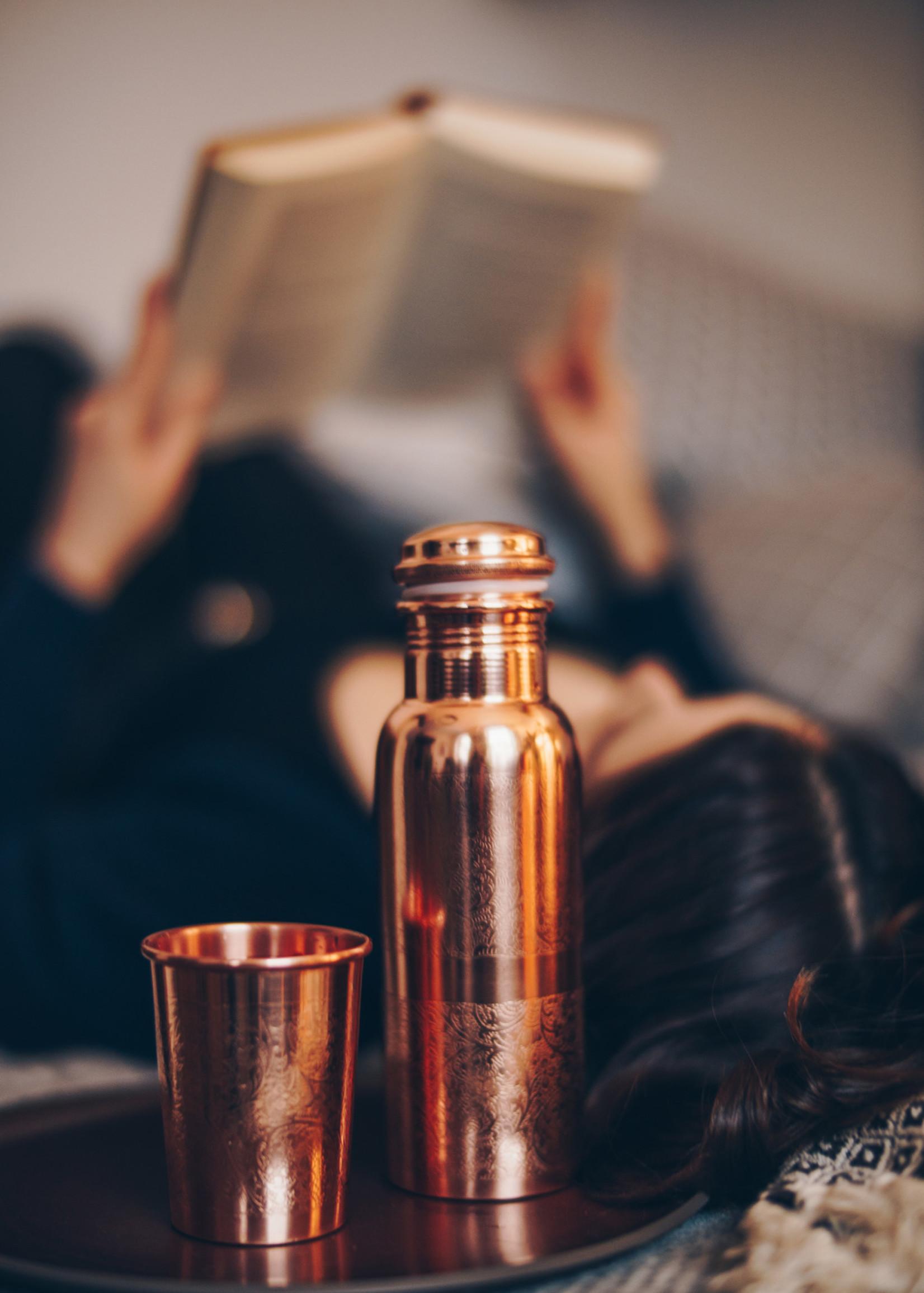 Forrest & Love Forrest & Love -Copper Luxury beker engraved