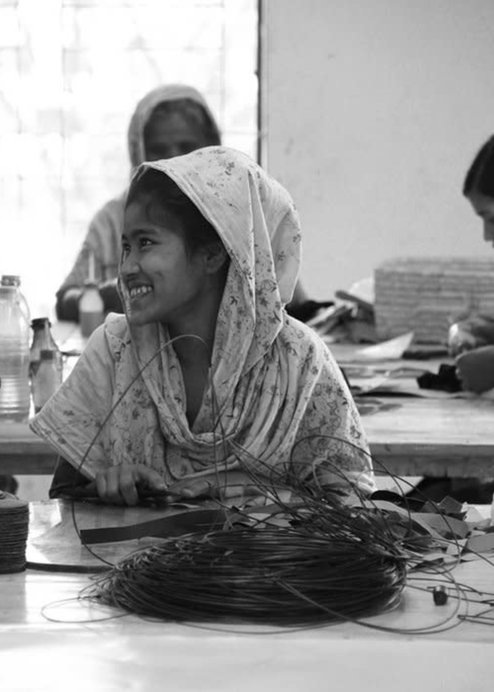 Anna Nera Anna Nera-Fairtrade Make up tasje-S black