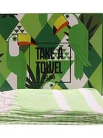 Mycha Ibiza Hamamdoek - Standlaken - 90 x 170 cm groen