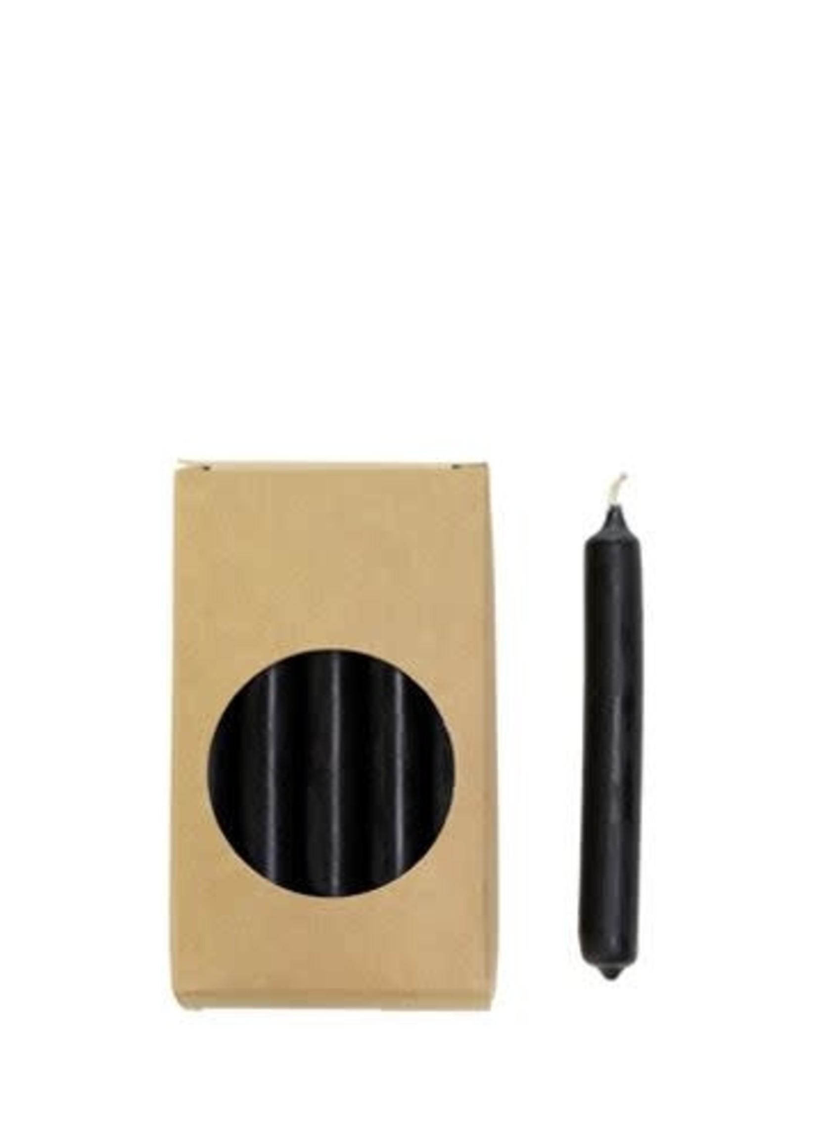 Rustik Rustik - potloodkaarsje -Zwart-1,2x10 cm