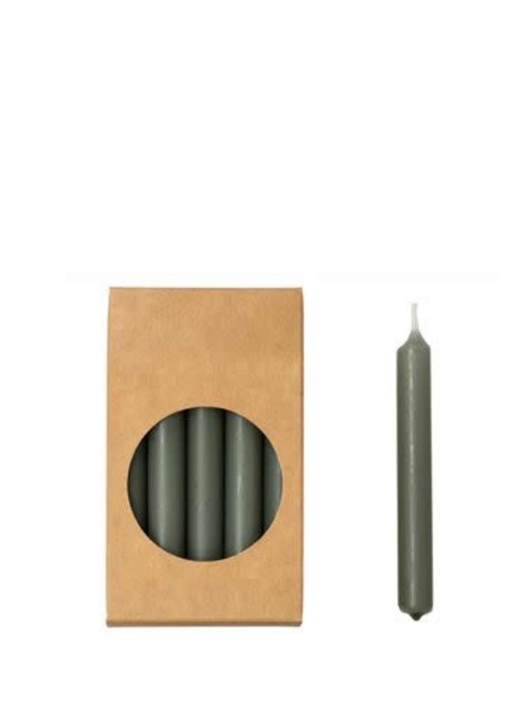 Rustik Rustik - potloodkaarsjes -Stone-1,2x10 cm