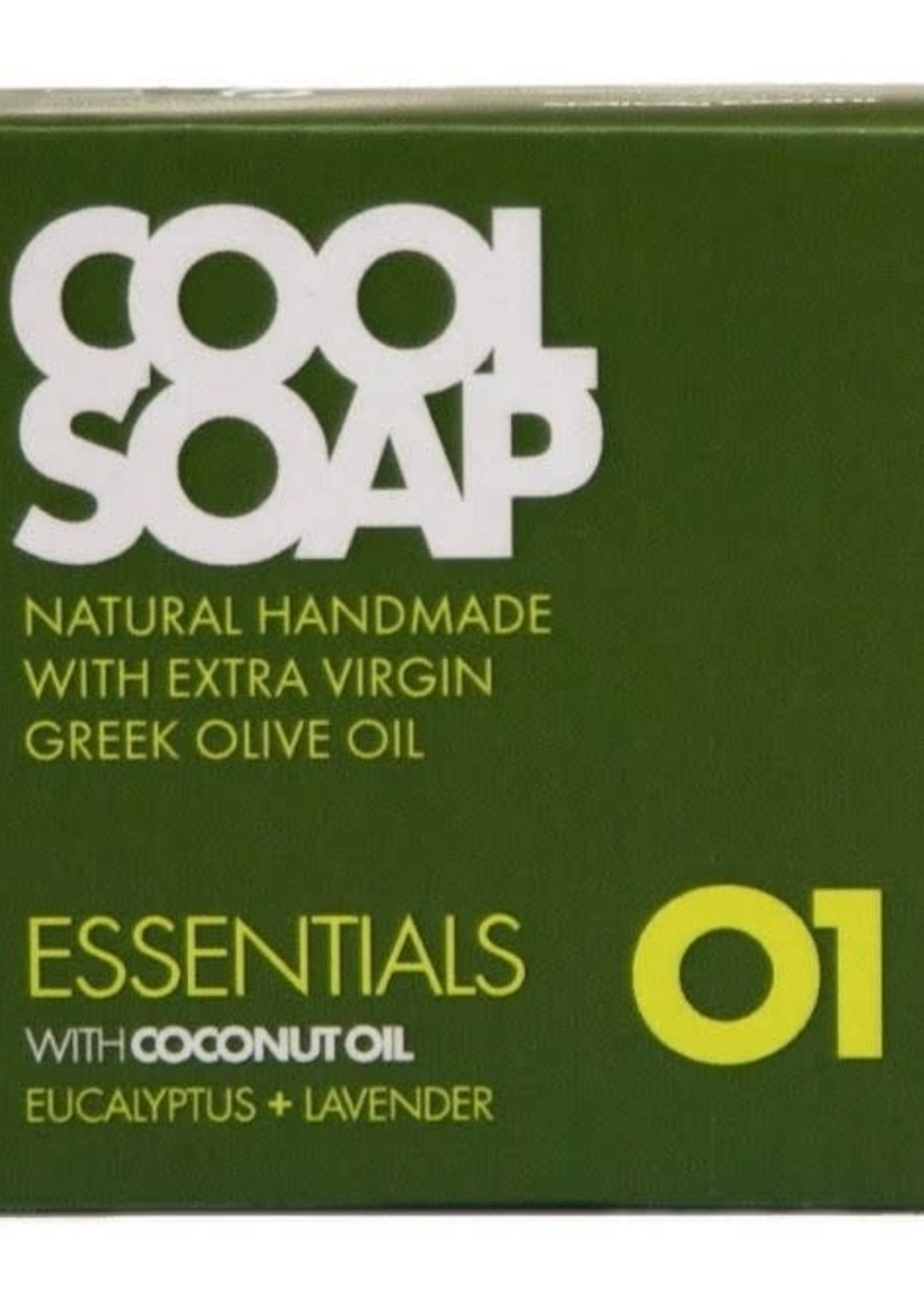 Cool Soap Cool Soap Essentials 01 - met Cocos Olie,  Lavendel en Eucalyptus