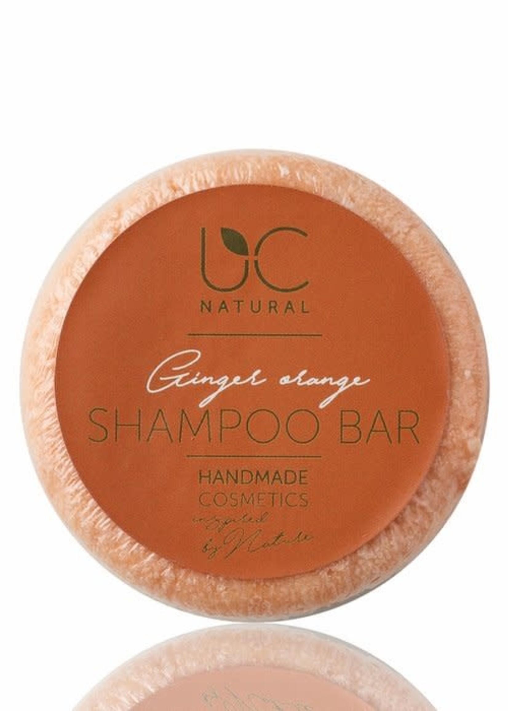 UC Naturel UC Natural - Shampoo Bar - Ginger Orange