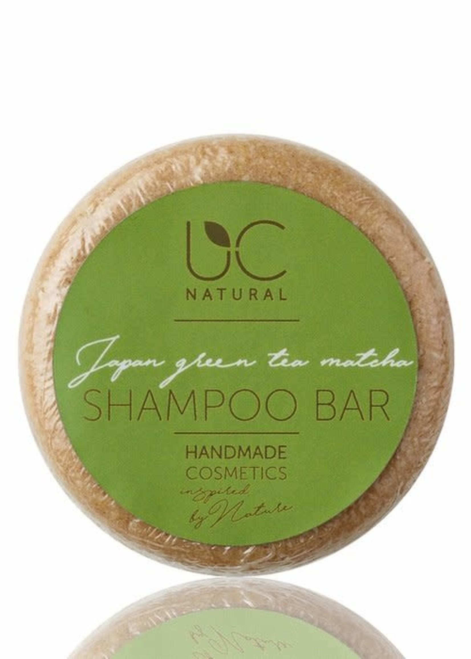 UC Naturel UC Natural - Shampoo Bar -Japan Green Tea Matcha