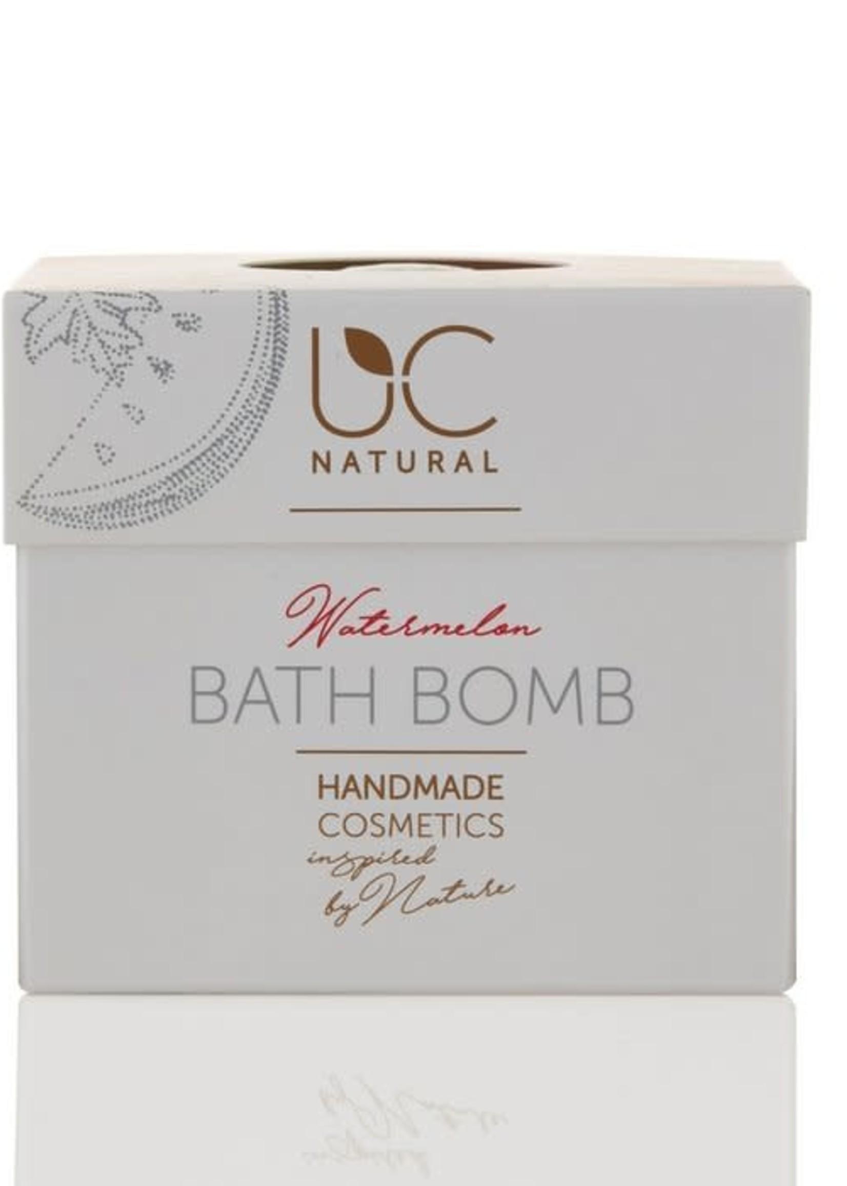 UC Naturel UC Natural - Bath Bomb - Watermeloen Badbruisbal