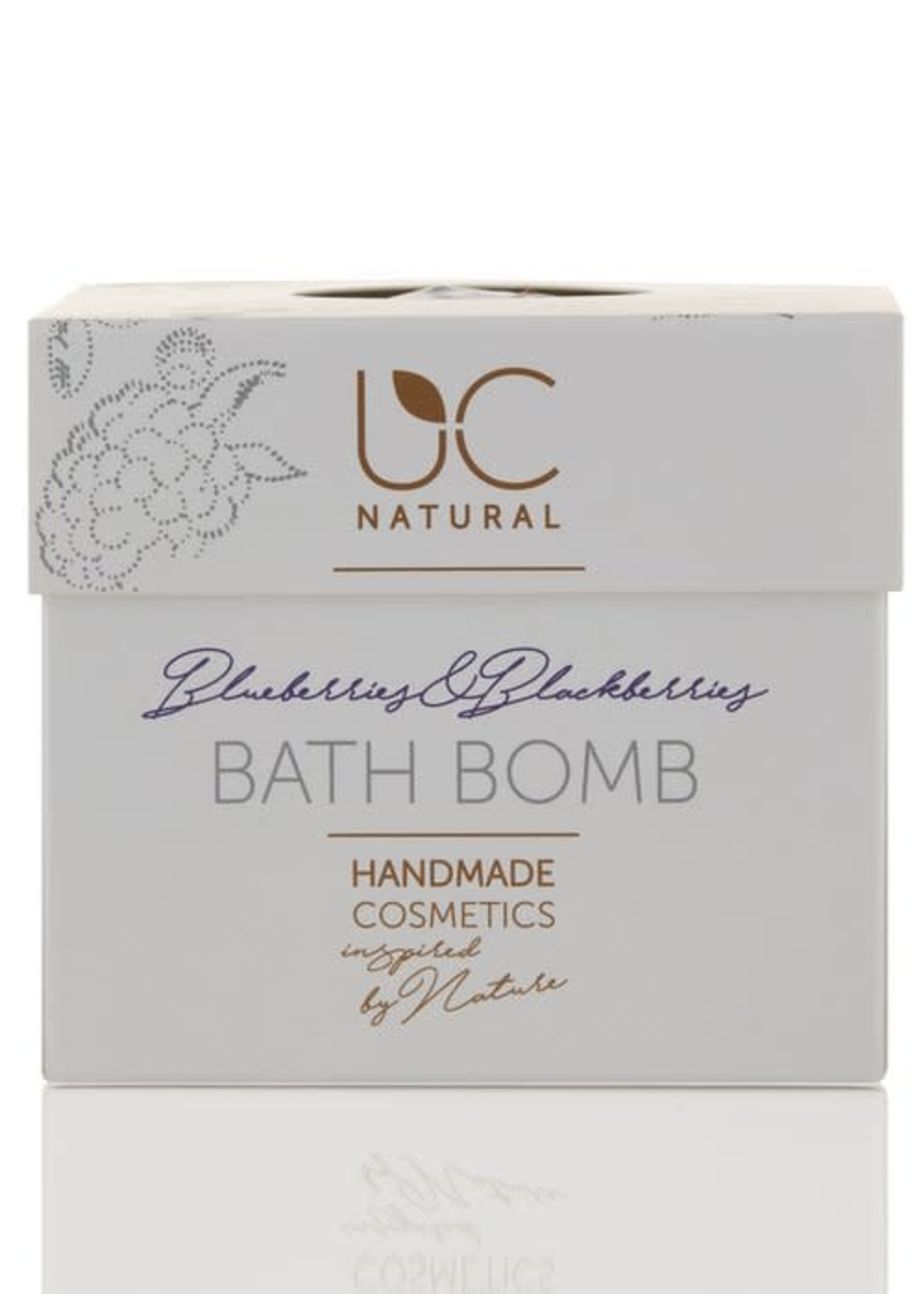 UC Naturel UC Natural - Bath Bomb - Blueberries & Blackberries - badbruisbal