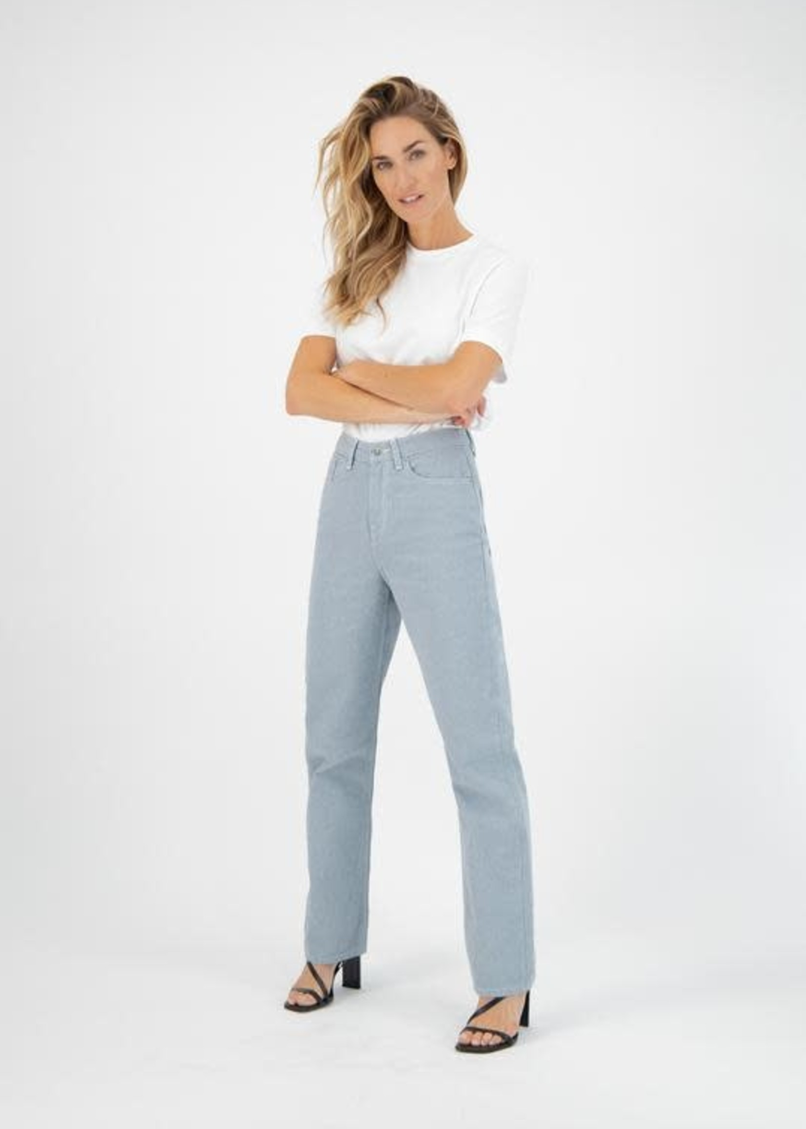 MUD Jeans Mud  Jeans - Relax Rose - Undyed