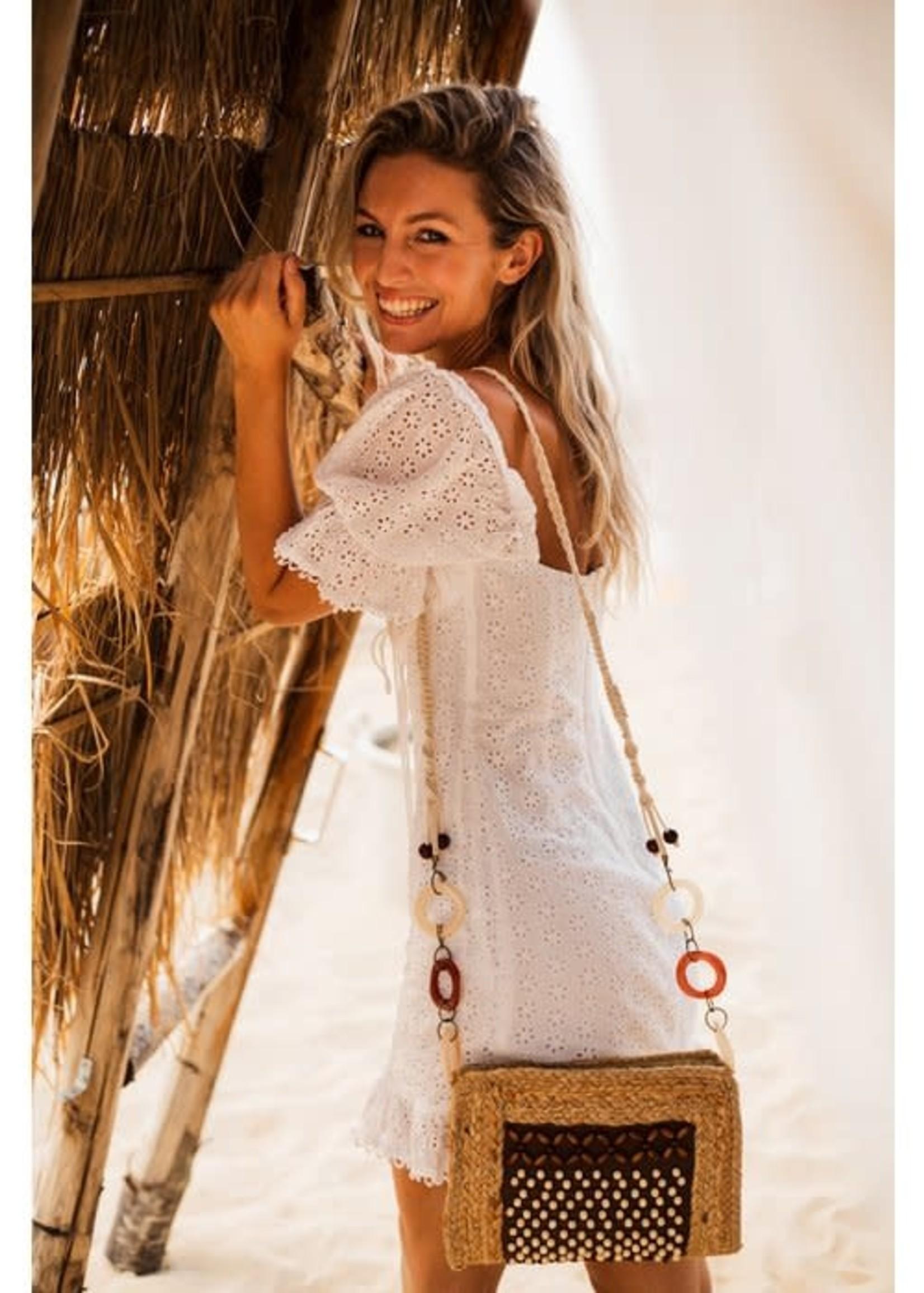 Mycha Ibiza Mycha Ibiza - Jute Tas - rechthoekig  Cala Jondal