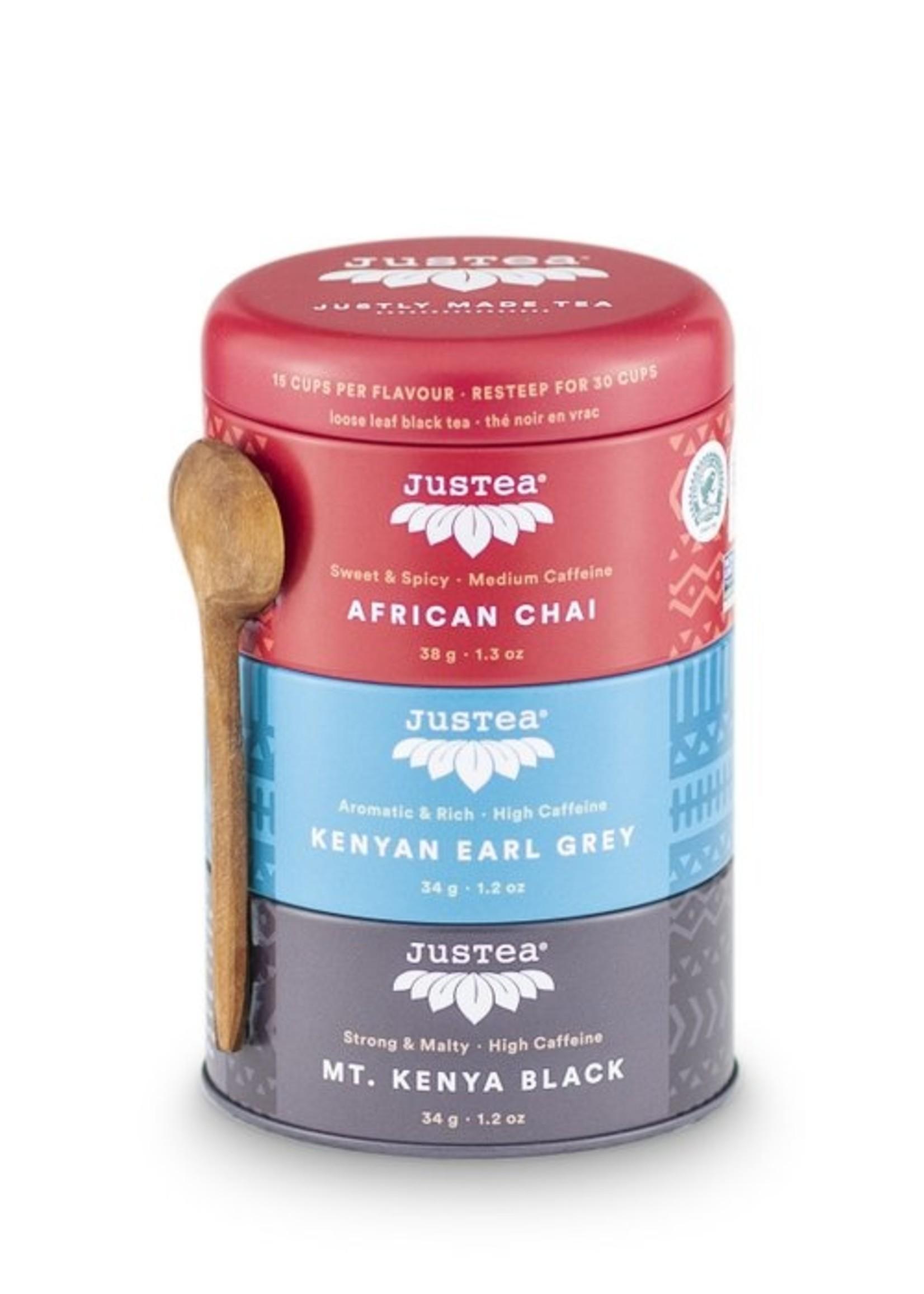 Justea Justea - Black Tea Trio